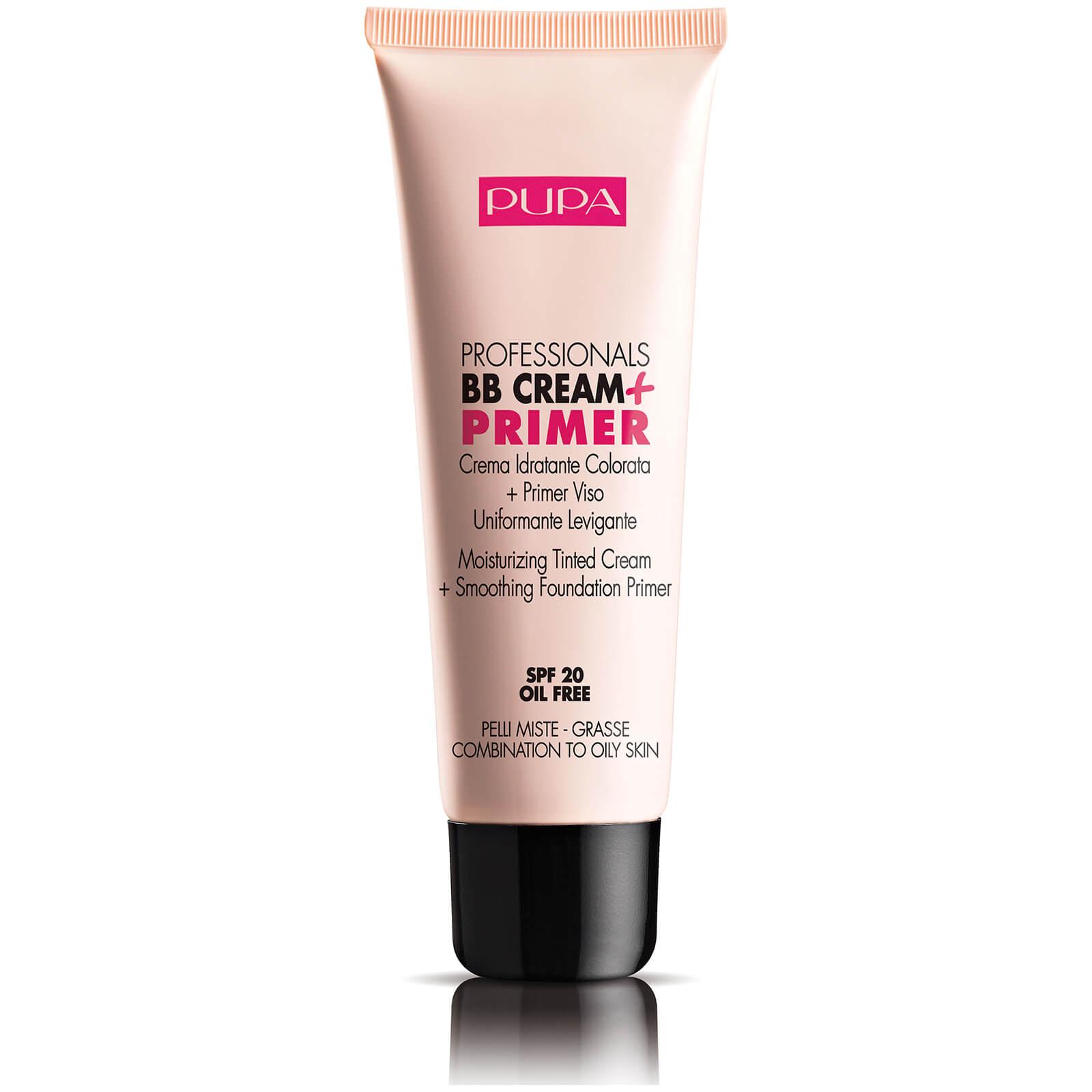 PUPA Professionals BB Cream Primer for Combination-Oily Skin - Light/Medium