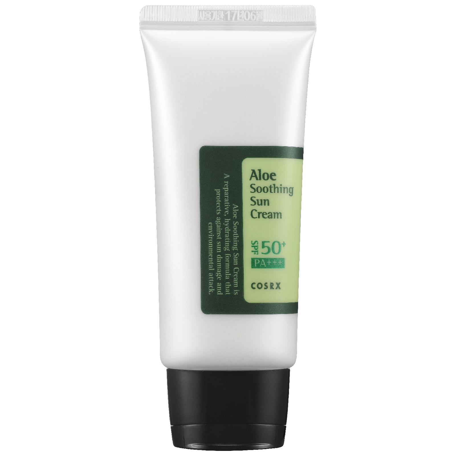 COSRX Aloe Soothing SPF50 PA+++ Sun Cream 50ml