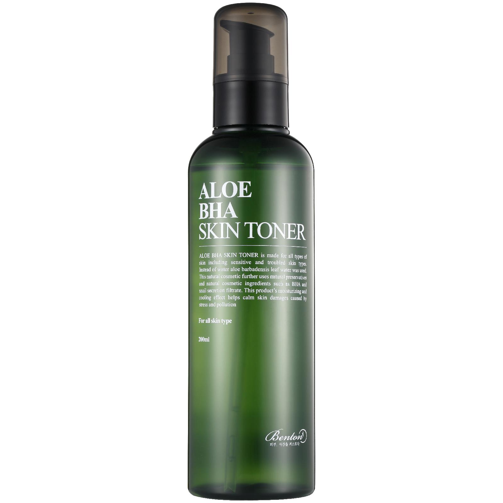 Купить Тонер для лица с высоким содержанием алоэ и салициловой кислотой Benton Aloe BHA Skin Toner 200 мл