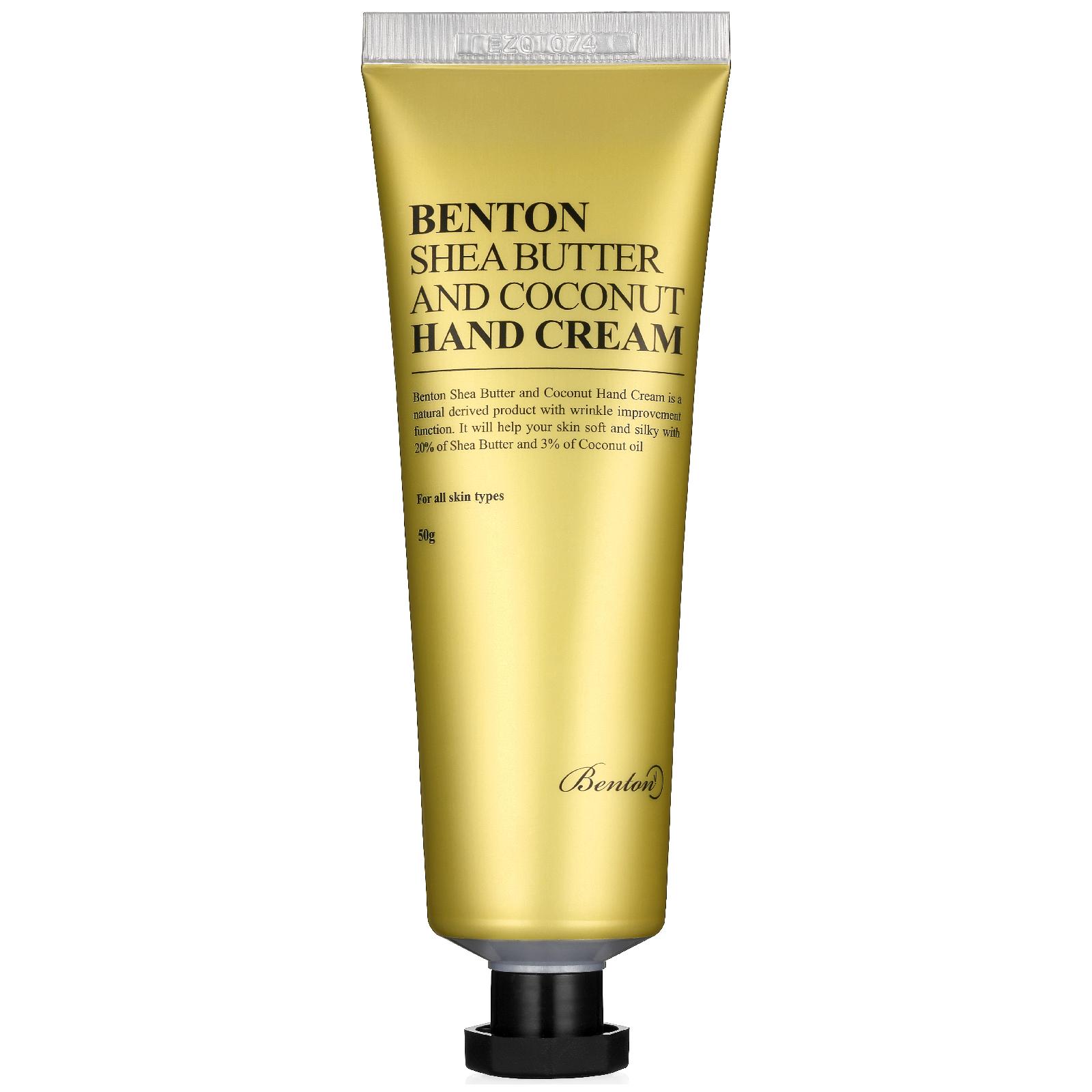 Купить Крем для рук с маслом ши и кокосом Benton Shea Butter and Coconut Hand Cream 50 г
