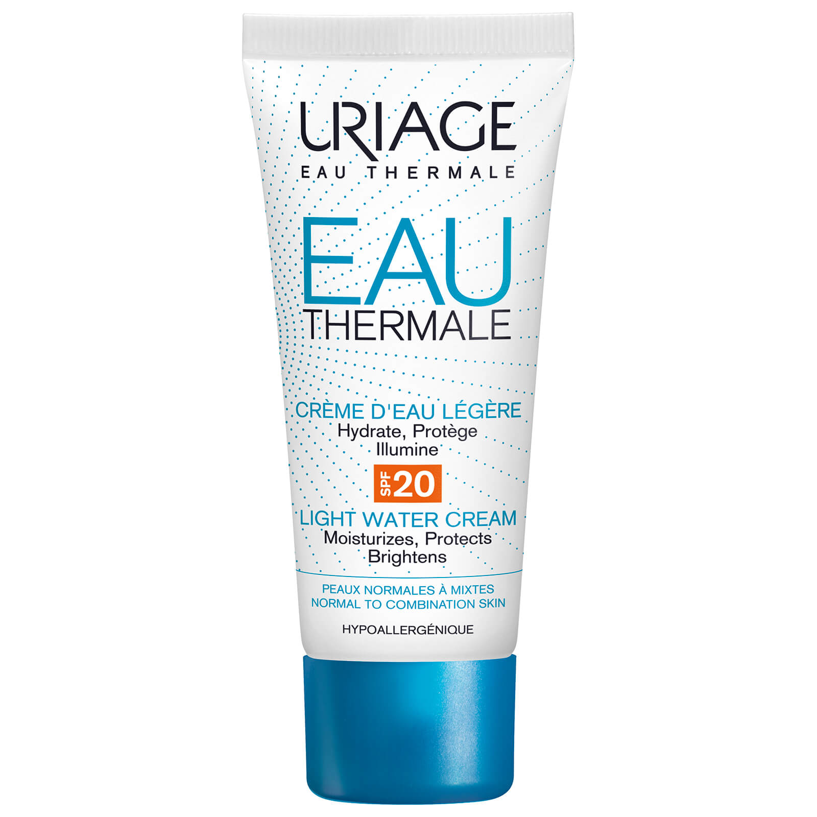 Купить Легкий увлажняющий крем с солнцезащитным фактором SPF20 Uriage Eau Thermale Light Water Cream SPF20 40мл