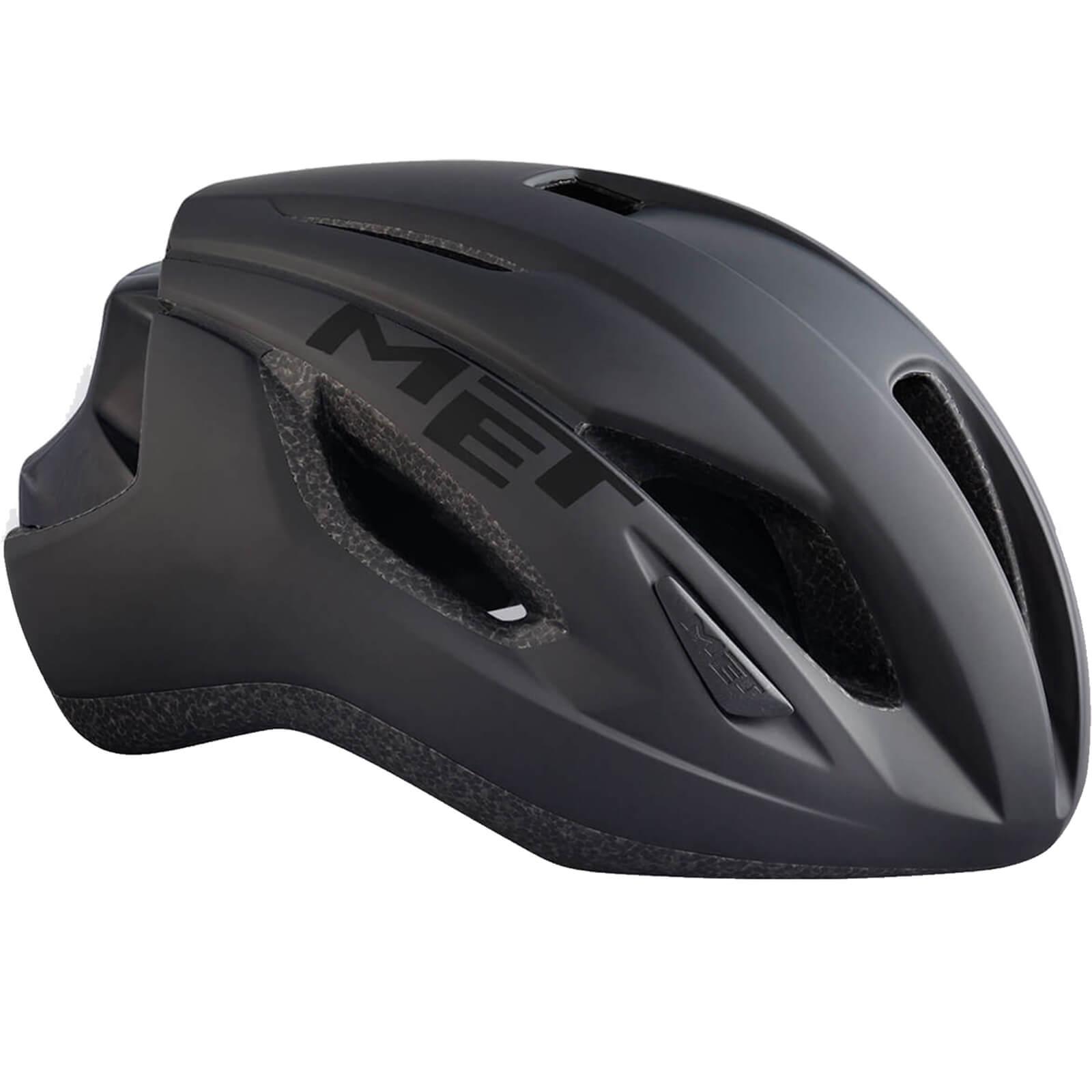 MET Strale Road Helmet - L/59-62cm - Schwarz