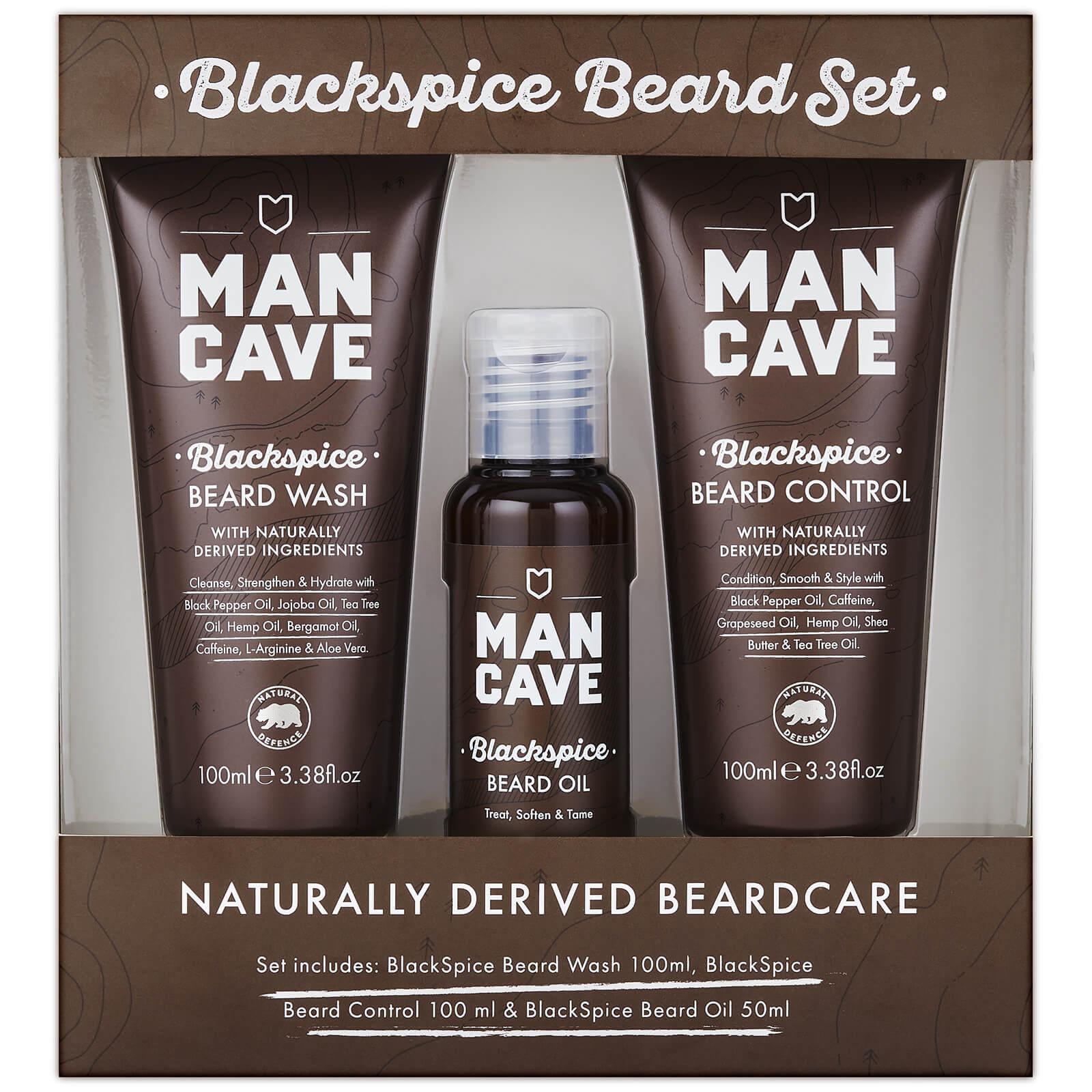 ManCave Blackspice Beard Care - 3 Piece Gift Set