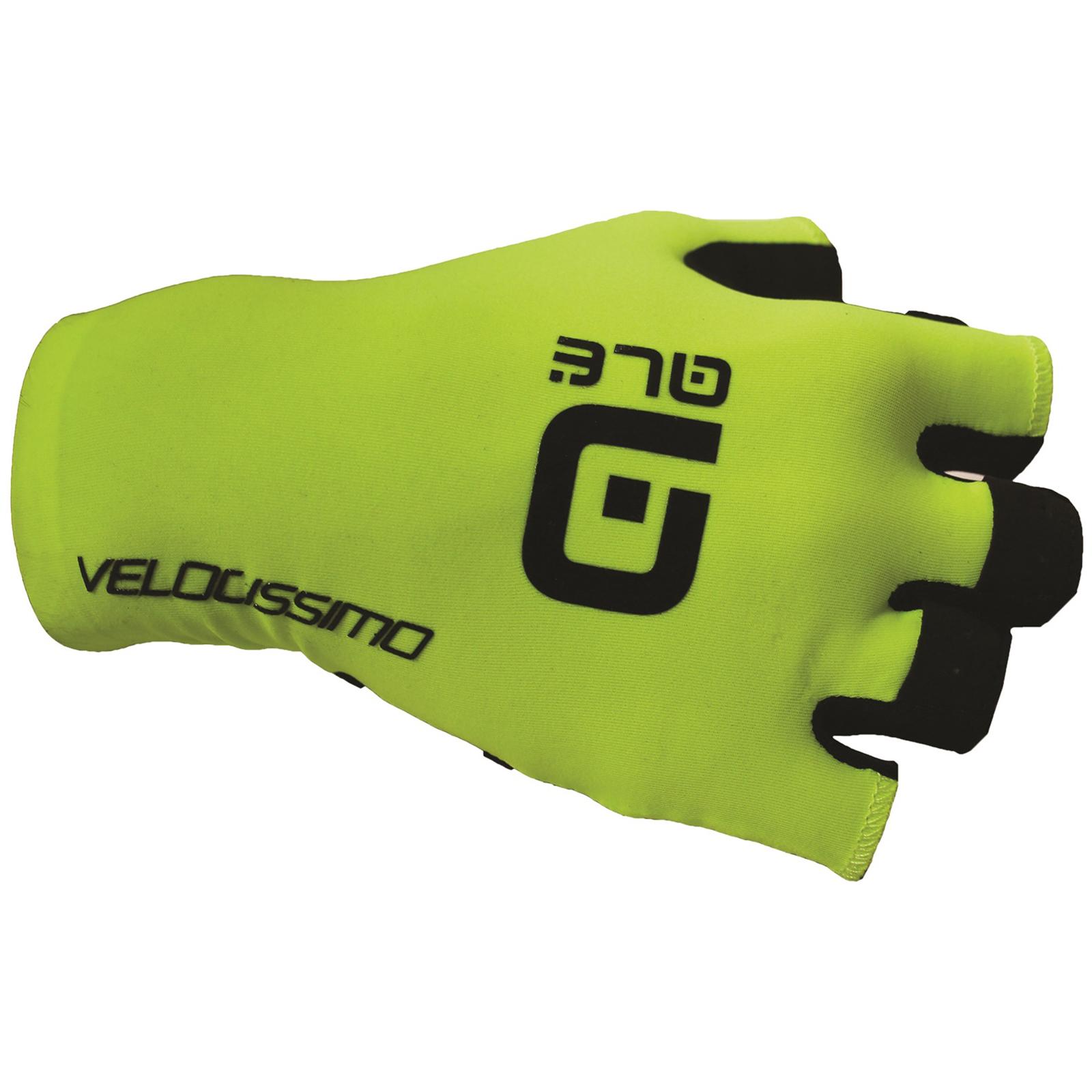 Al Chrono Gloves - Yellow/black - S - Yellow/black