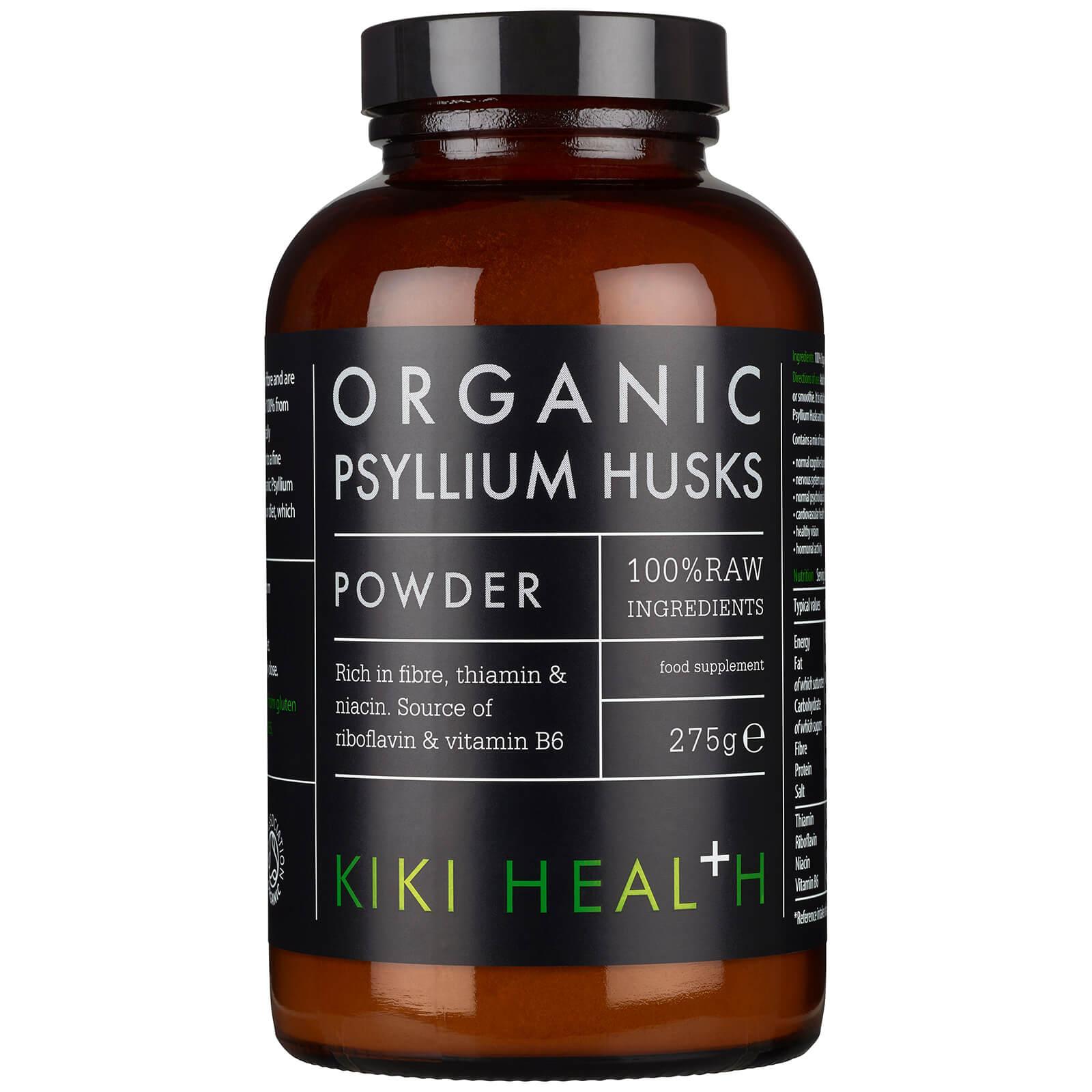 KIKI Health bucce di psillio biologico in polvere 275 g