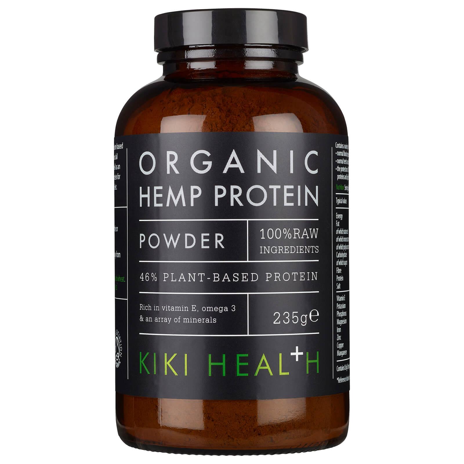 KIKI Health proteine di canapa biologica in polvere 235 g