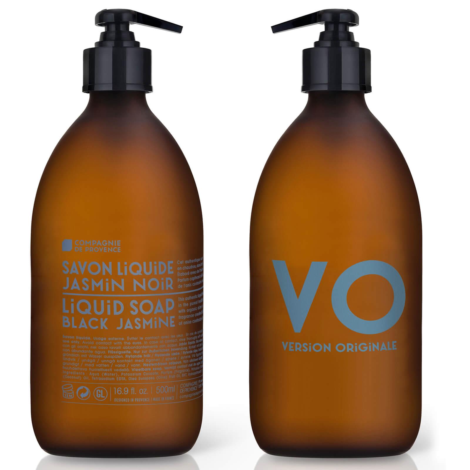 Купить Жидкое мыло Compagnie de Provence Liquid Marseille Soap 500 мл - Black Jasmine
