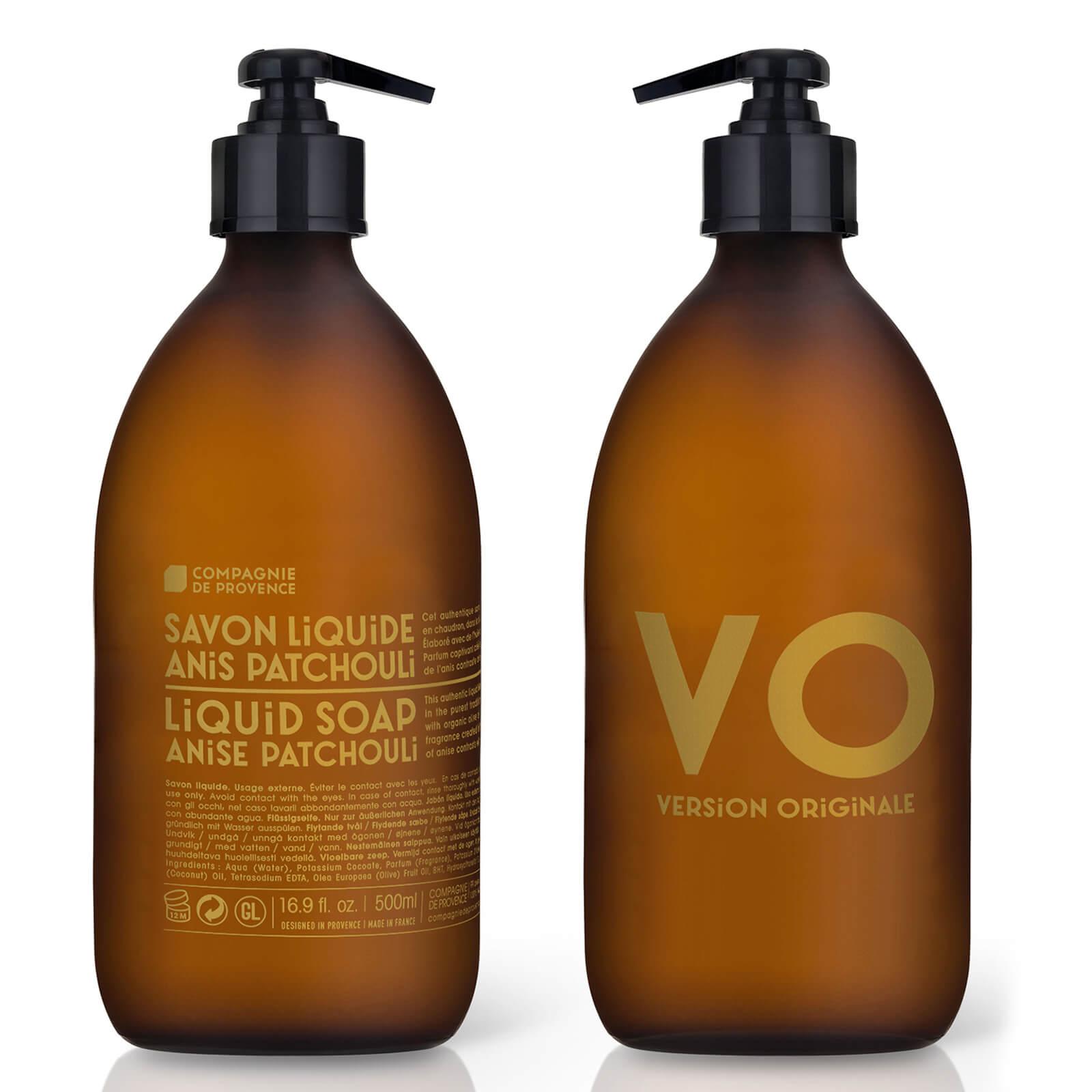 Купить Жидкое мыло Compagnie de Provence Liquid Marseille Soap 500 мл - Anise Patchouli