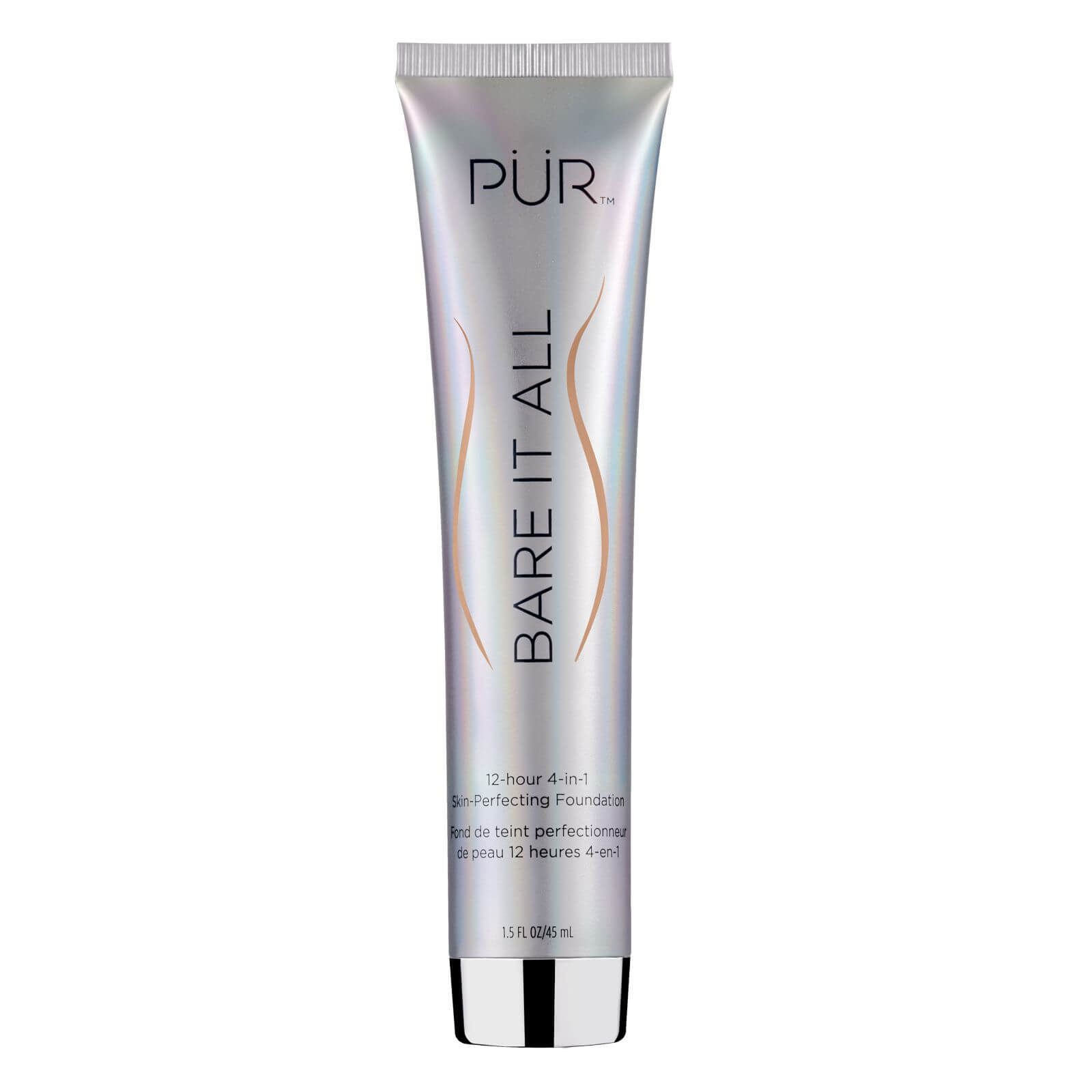 PÜR Bare It All 4-in-1 Skin Perfecting Foundation 45ml (Various Shades) - Golden Medium