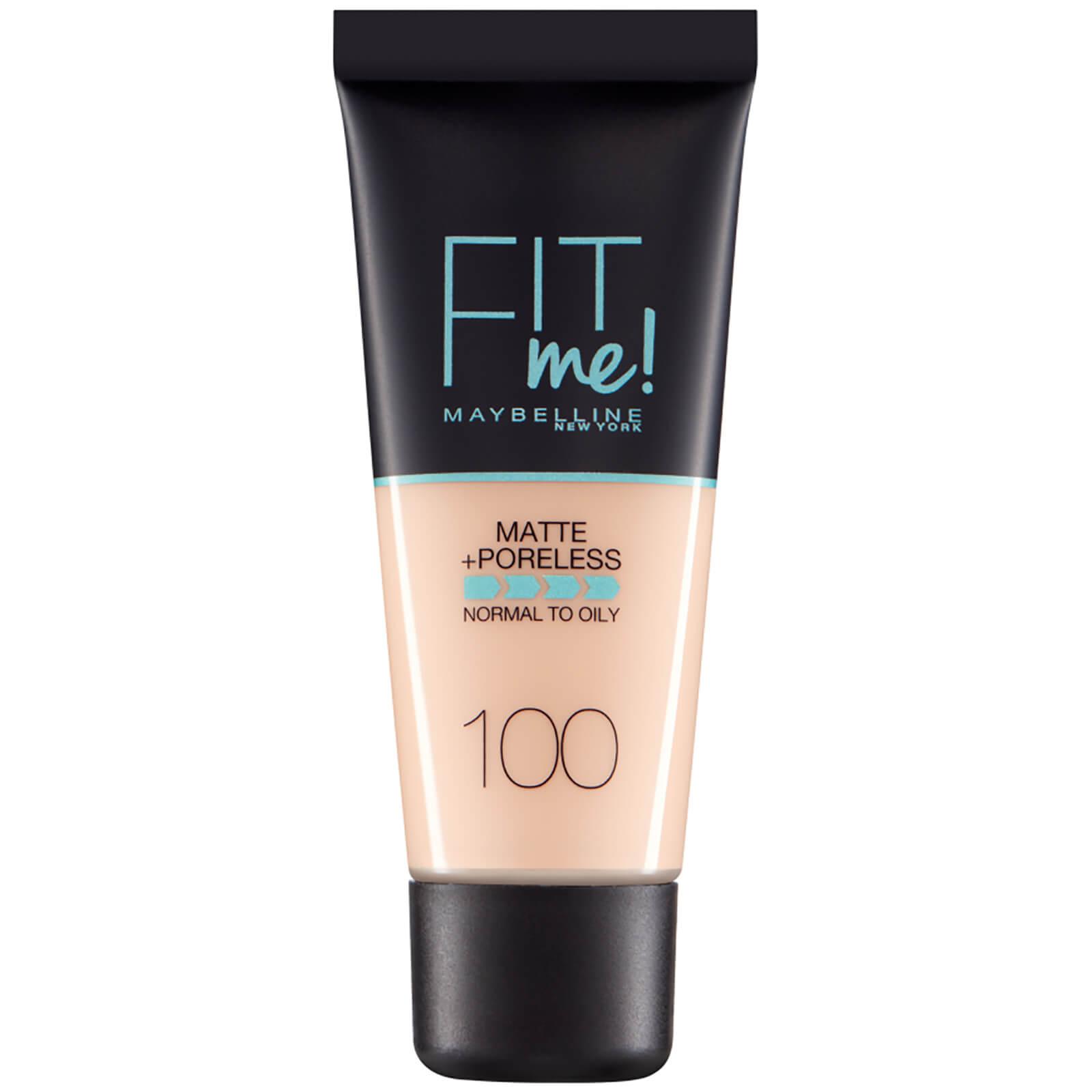 Купить Fit Me! от Maybelline Матирующий тональный крем для сужения пор, 30мл (разные оттенки) - 100 Warm Ivory