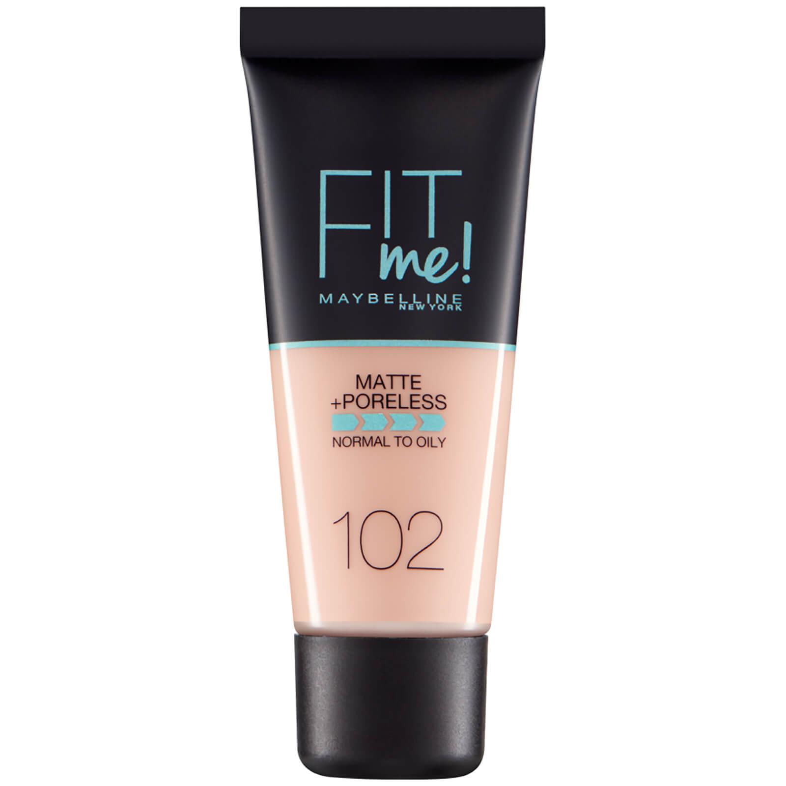 Купить Fit Me! от Maybelline Матирующий тональный крем для сужения пор, 30мл (разные оттенки) - 102 Fair Ivory