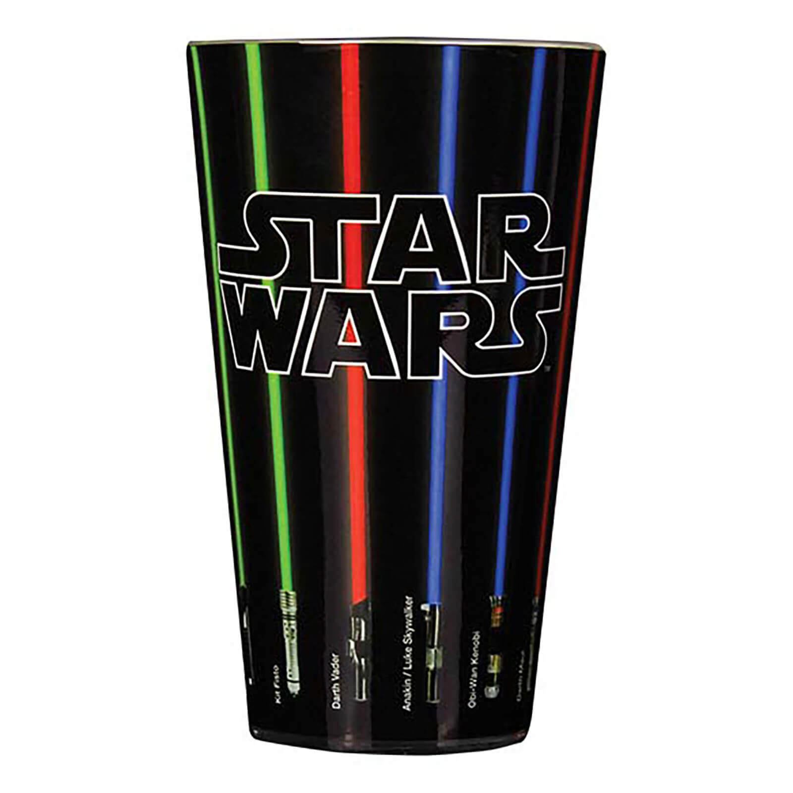 Star Wars Lightsaber Glass   Black