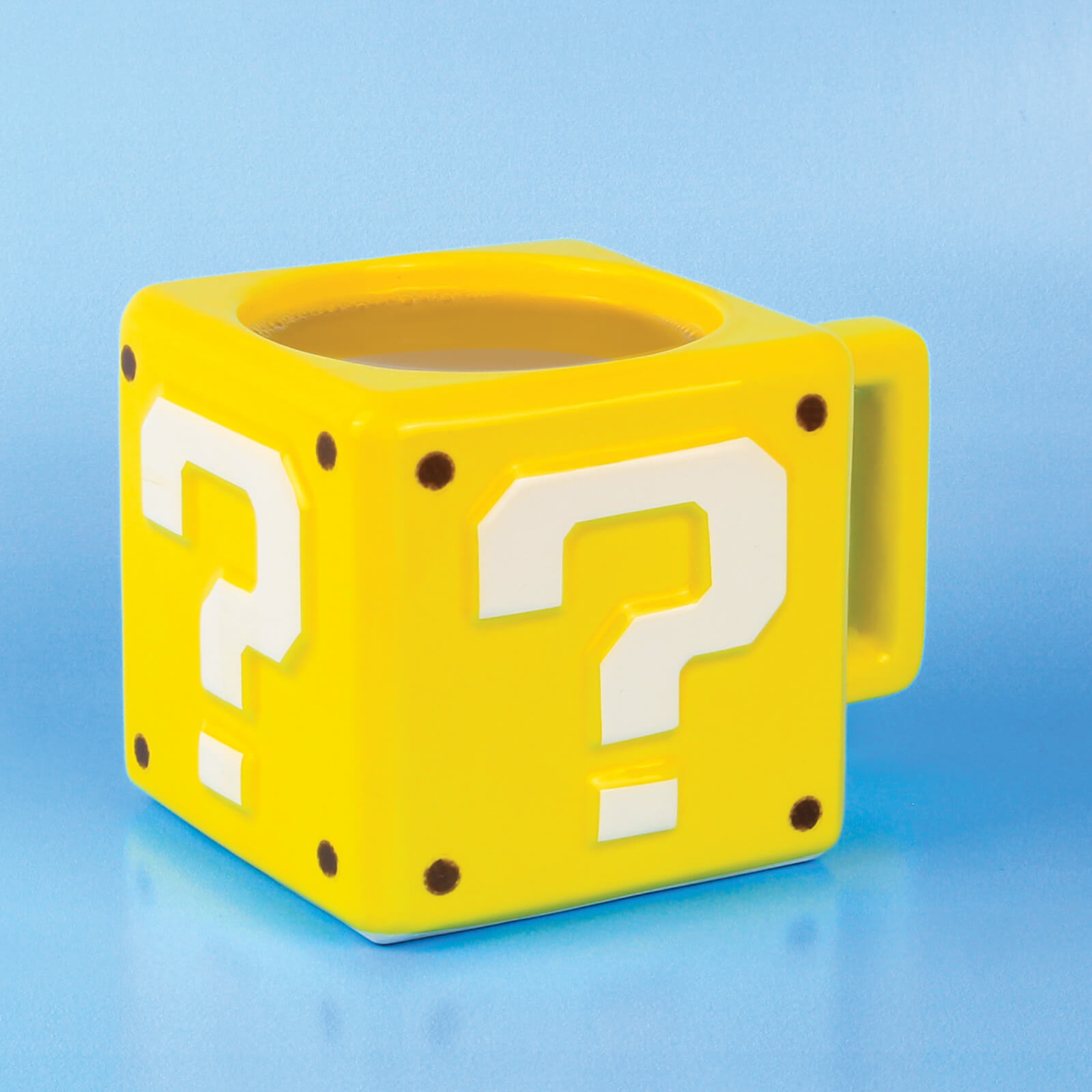 Image of Nintendo Super Mario Question Block Mug - Yellow