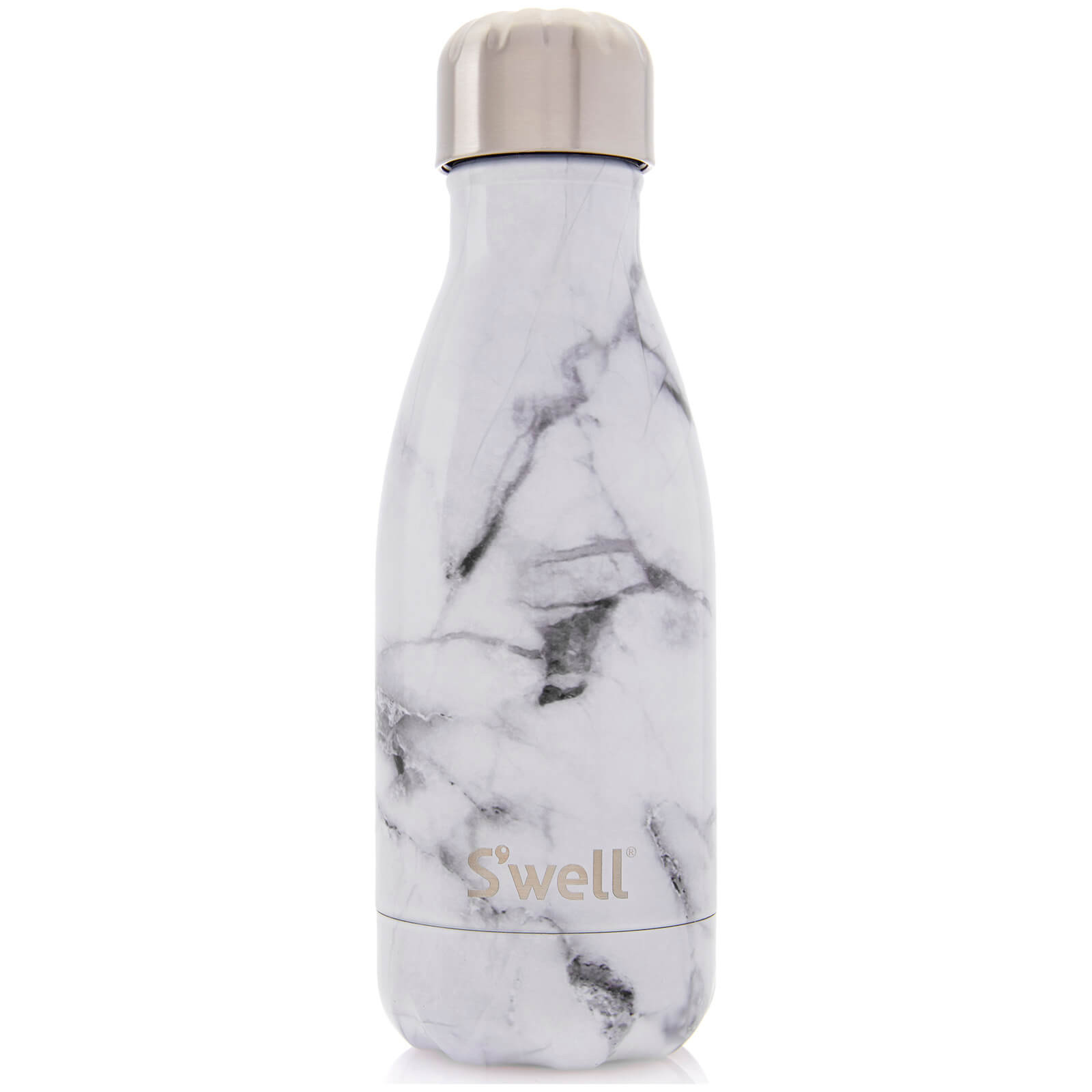 S'well The White Marble Water Bottle 260ml