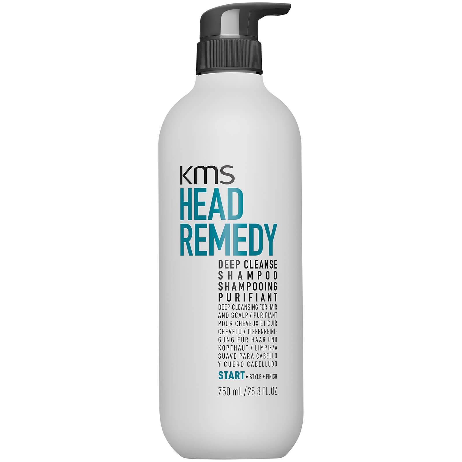 KMS HeadRemedy Deep Cleanse Shampoo 750ml