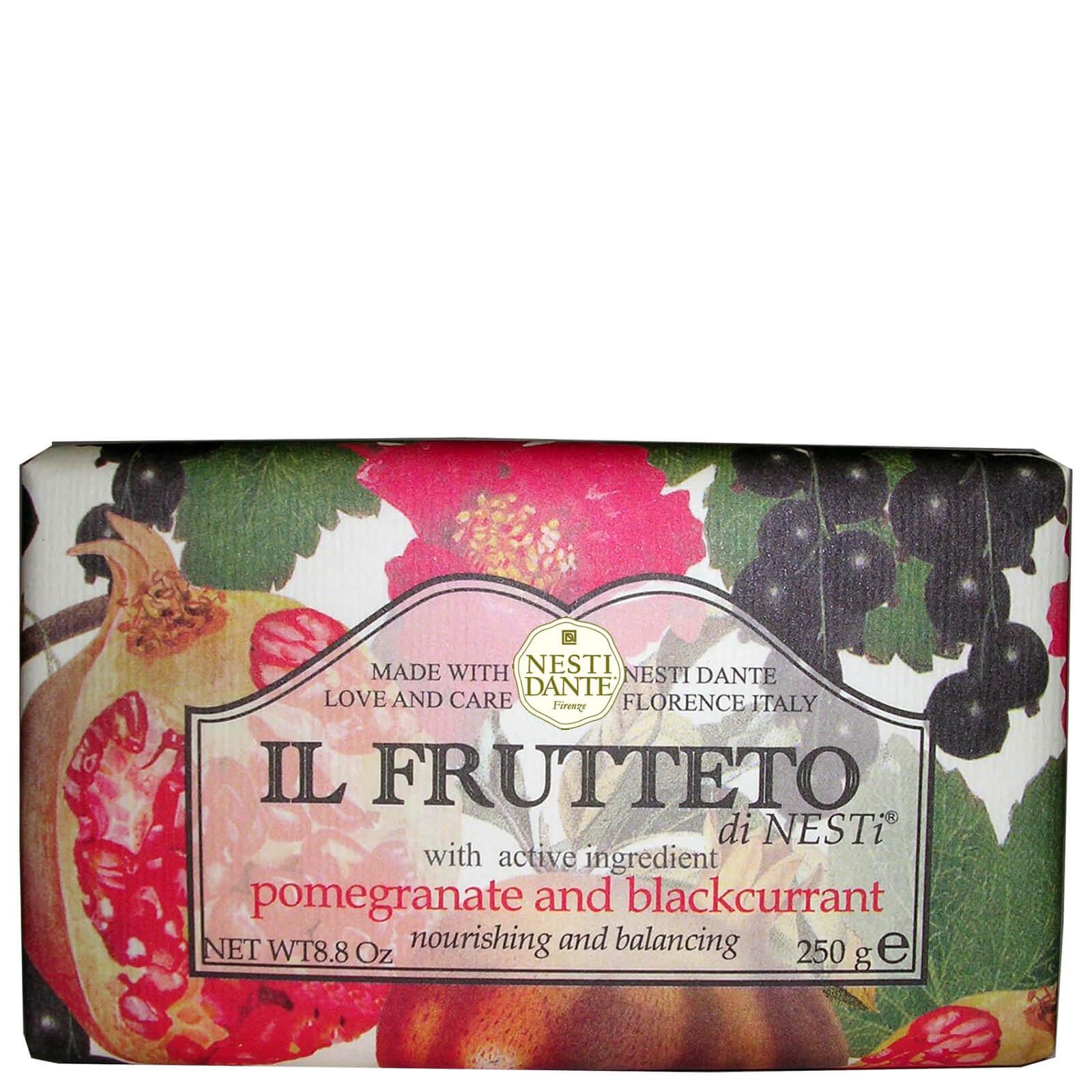 Купить Натуральное мыло «Гранат и черная смородина» Nesti Dante Il Frutteto Pomegranate and Blackcurrant Soap 250г