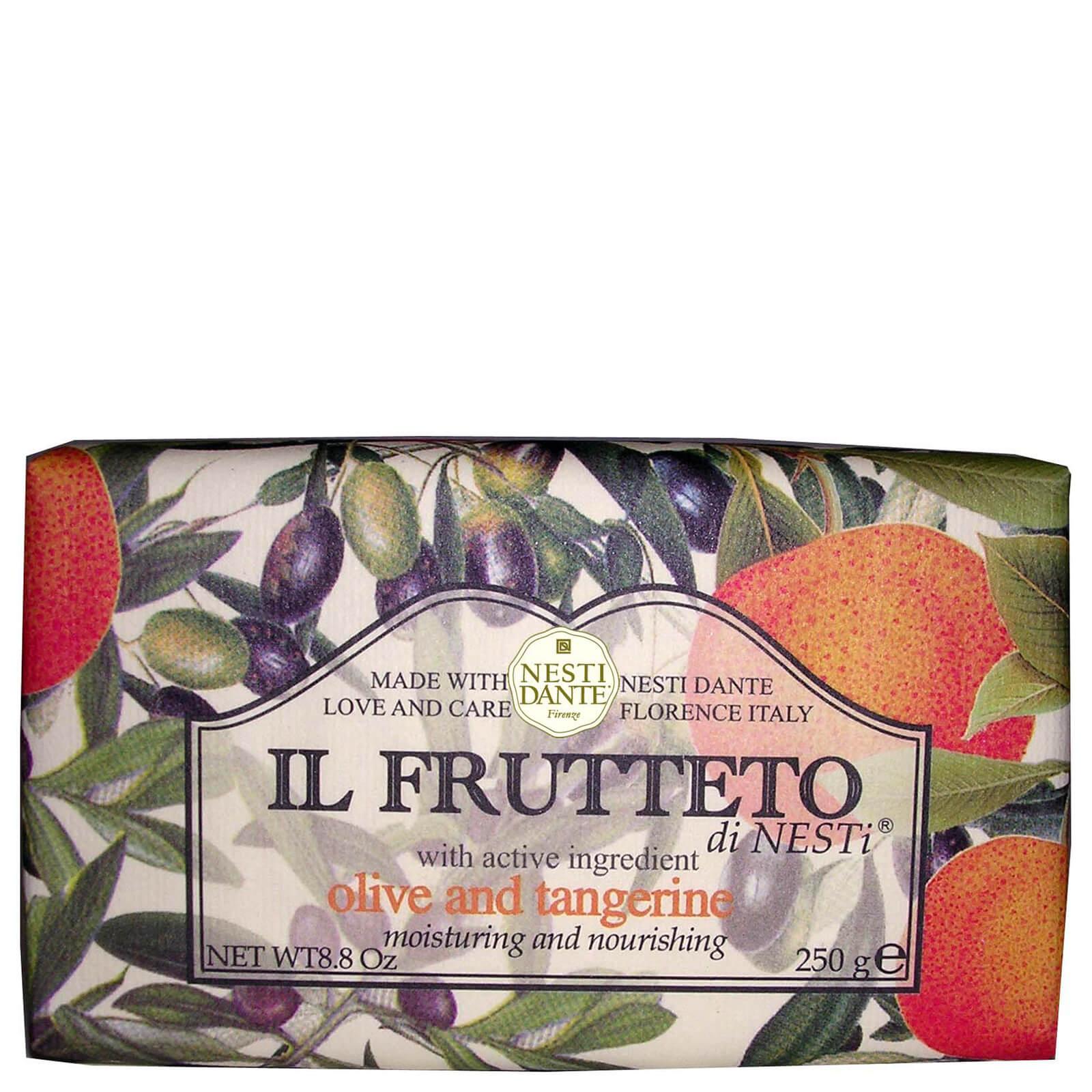 Купить Натуральное мыло «Оливковое масло и мандарин» Nesti Dante Il Frutteto Olive Oil and Tangerine Soap 250г