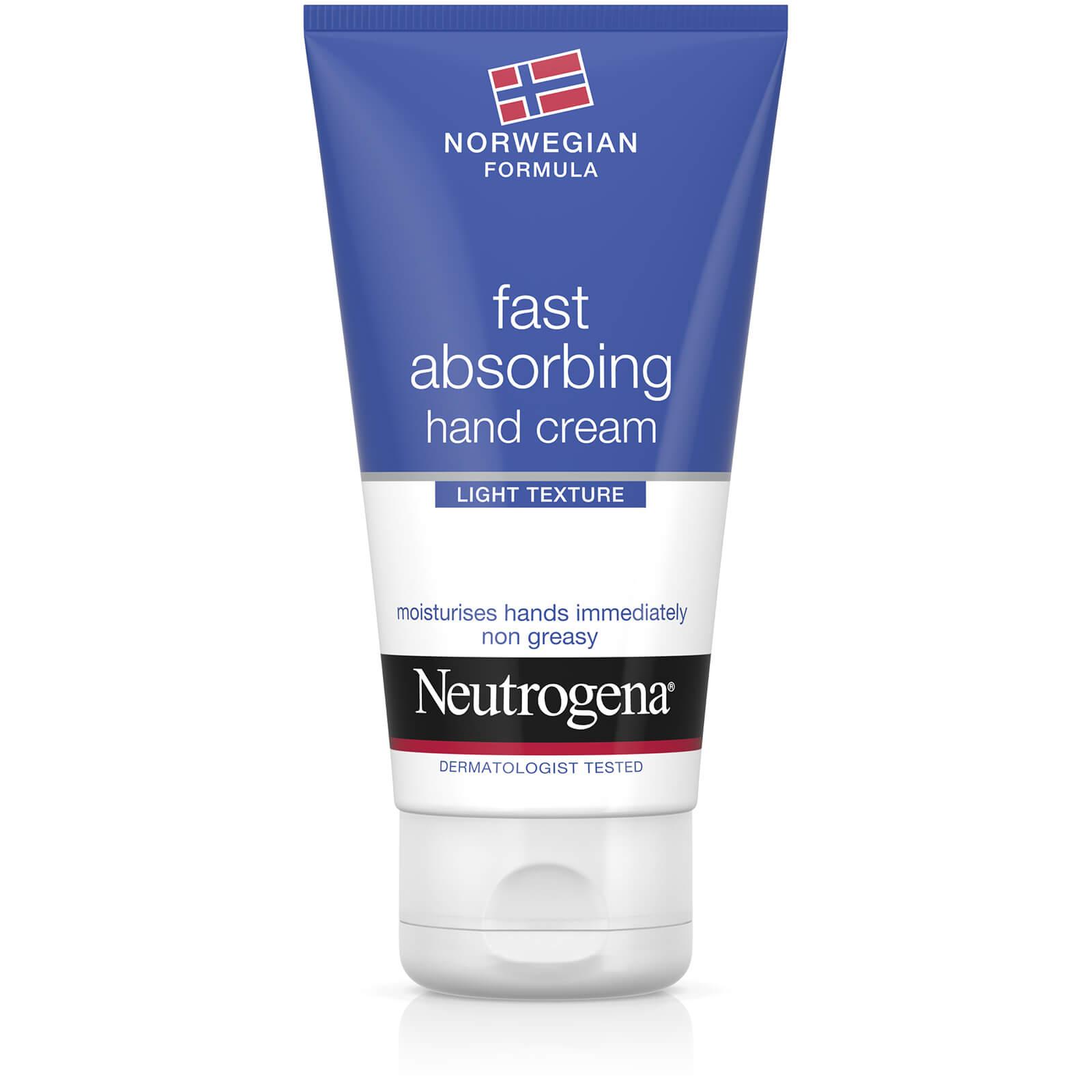 Купить Быстро впитывающийся крем для рук Neutrogena Norwegian Formula Fast Absorbing Hand Cream 75 мл