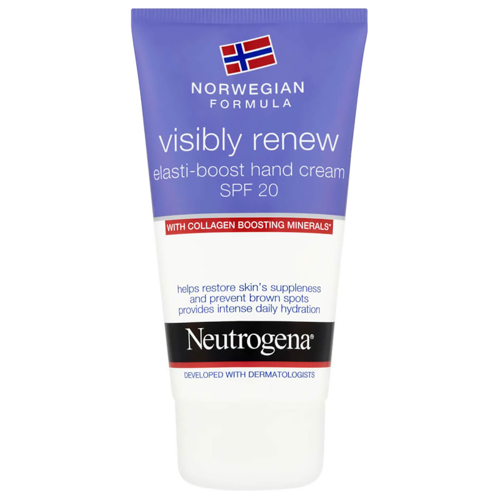 Купить Восстанавливающий крем для рук Neutrogena Norwegian Formula Visibly Renew Hand Cream SPF20 75 мл