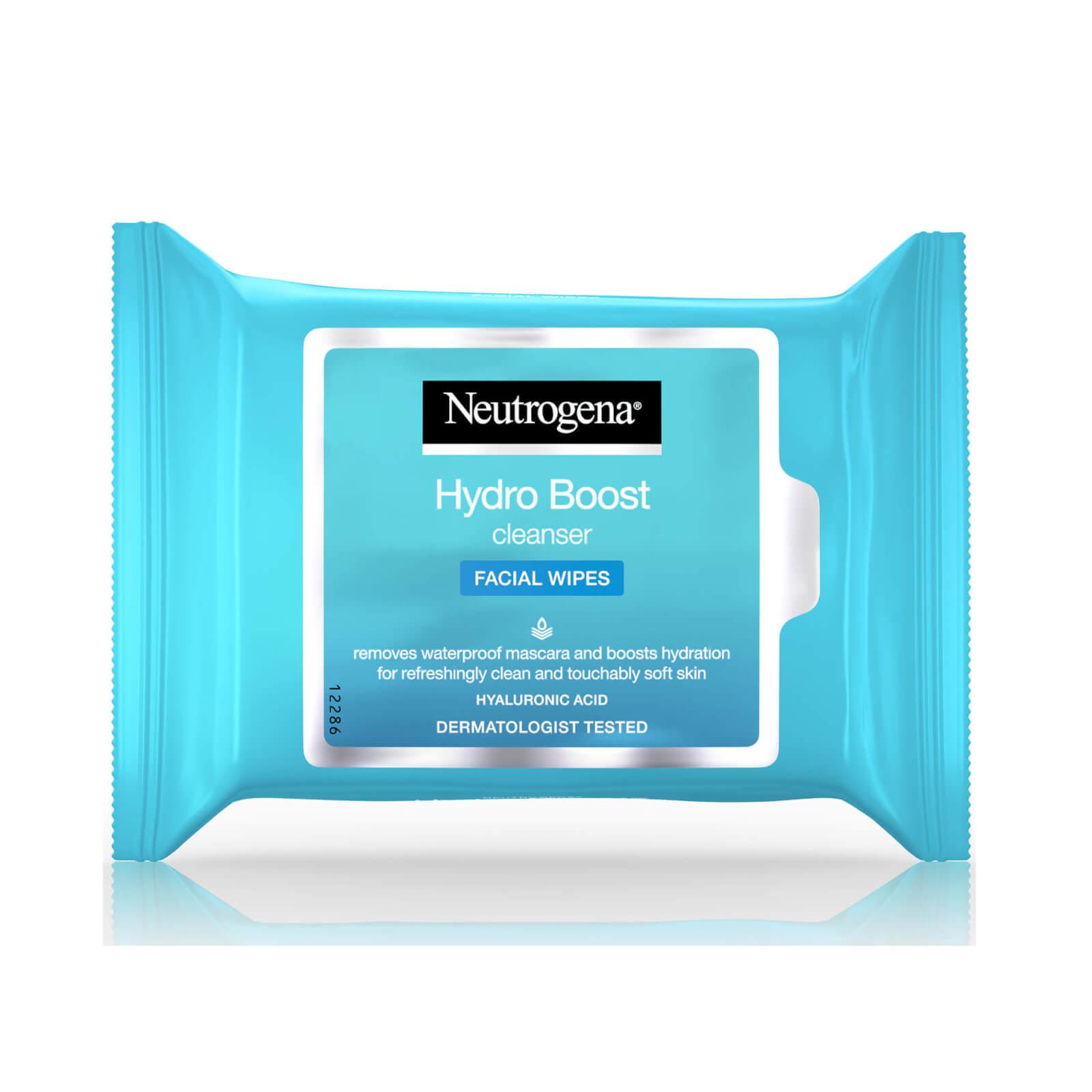 Купить Очищающие салфетки Neutrogena Hydroboost Cleanser Wipes (25 салфеток)