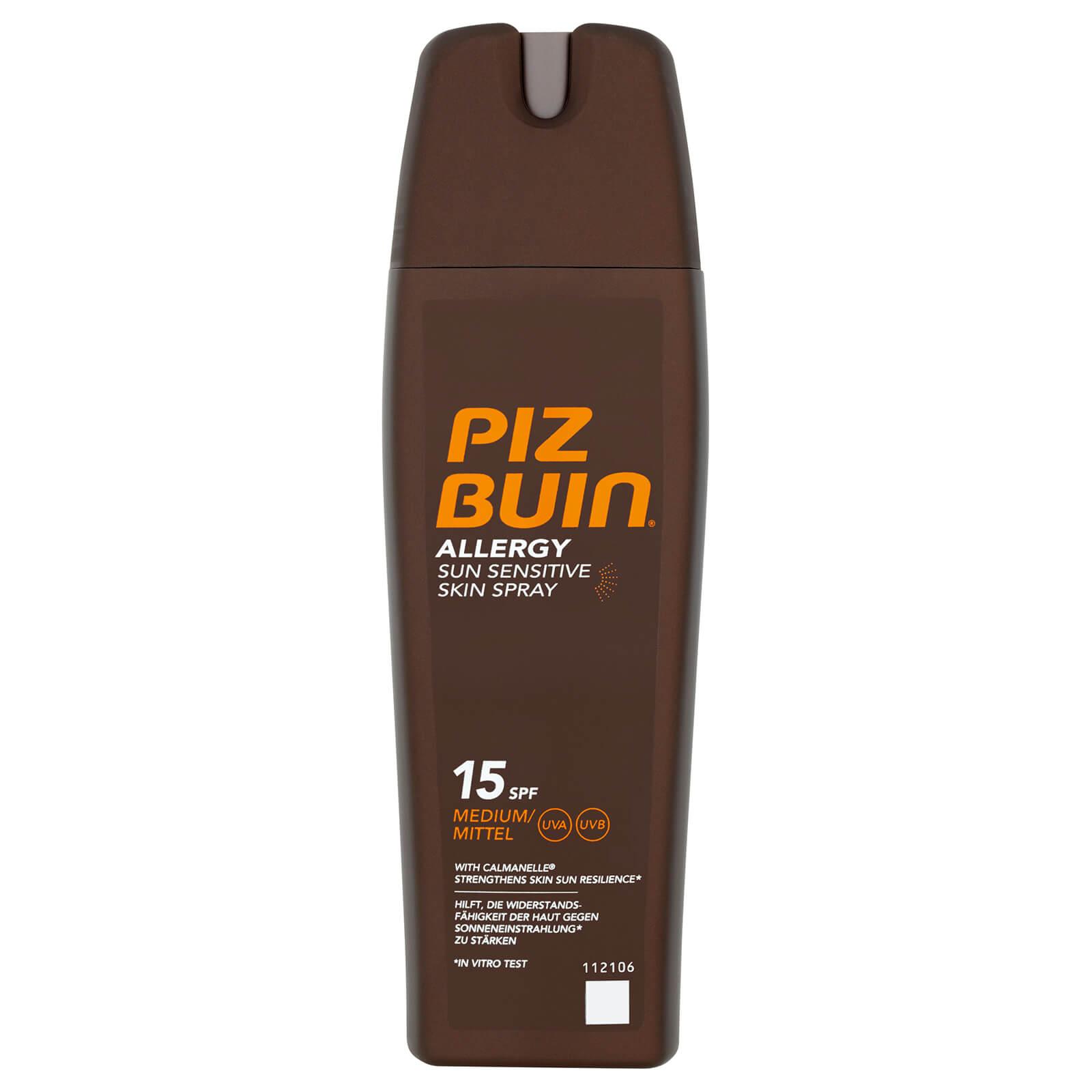 Купить Солнцезащитный спрей для чувствительной кожи Piz Buin Allergy Sun Sensitive Skin Spray - Medium SPF15 200 мл