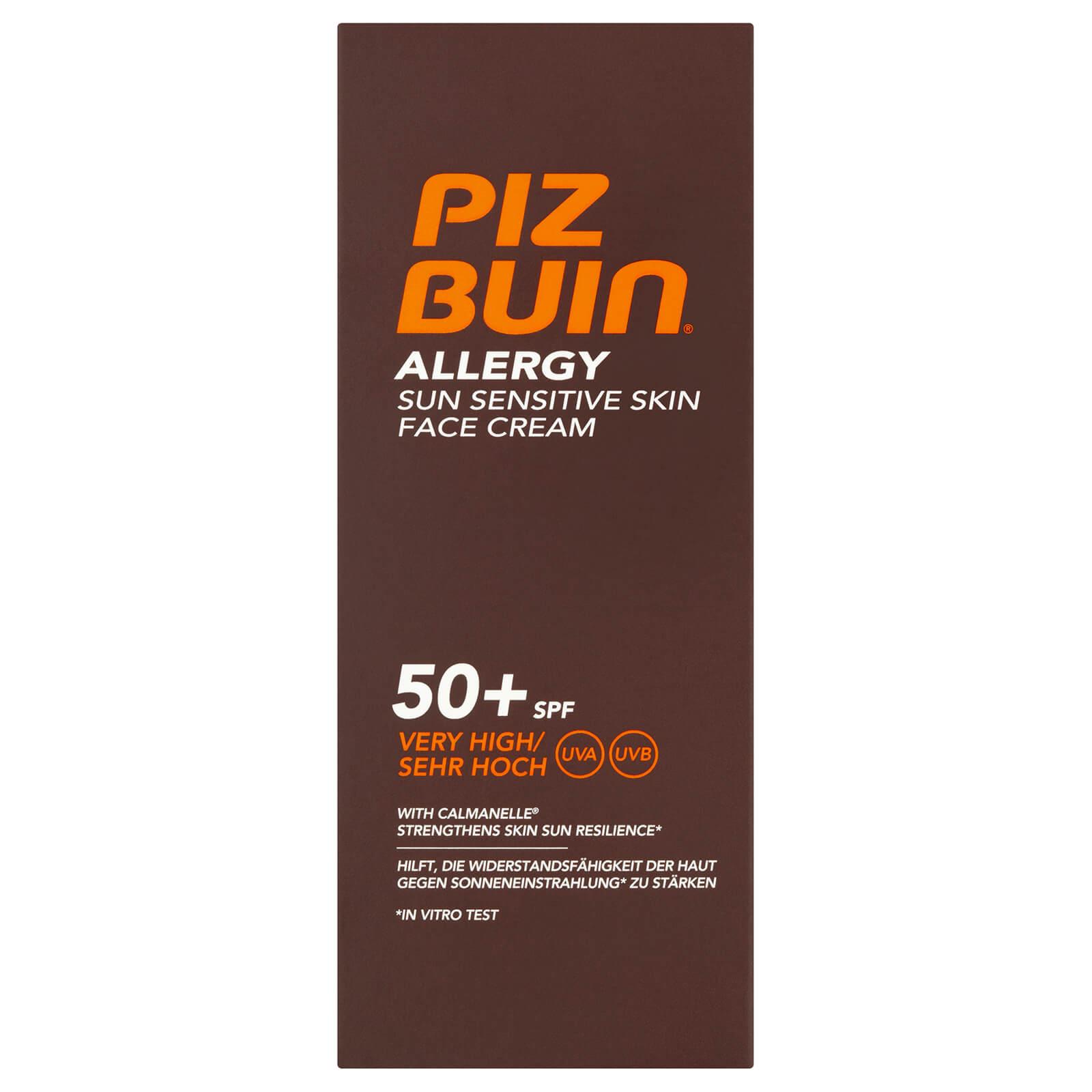 Купить Солнцезащитный крем для чувствительной кожи лица Piz Buin Allergy Sun Sensitive Skin Face Cream - Very High SPF50+ 50 мл
