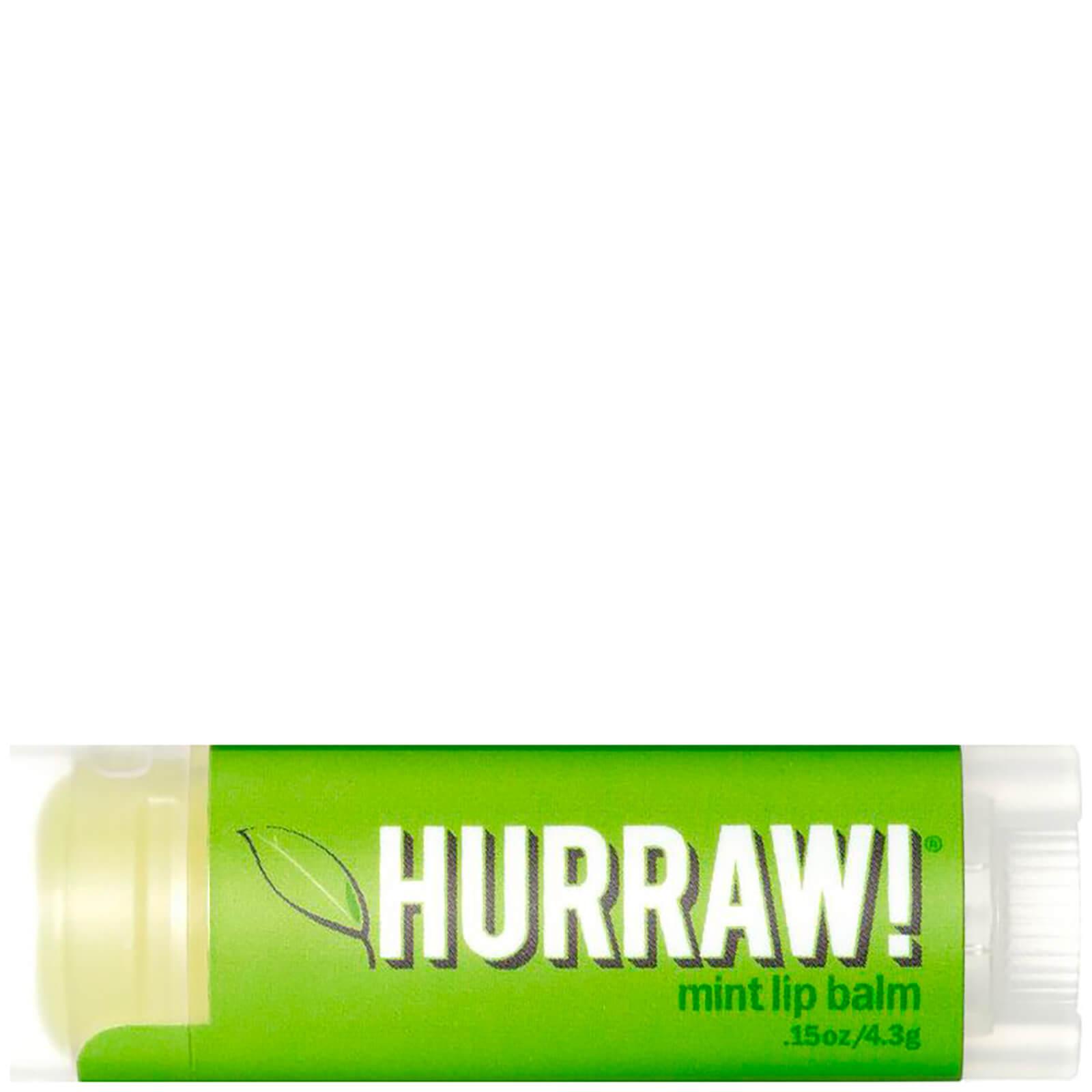 Купить Бальзам для губ с ароматом мяты Hurraw! Mint Lip Balm
