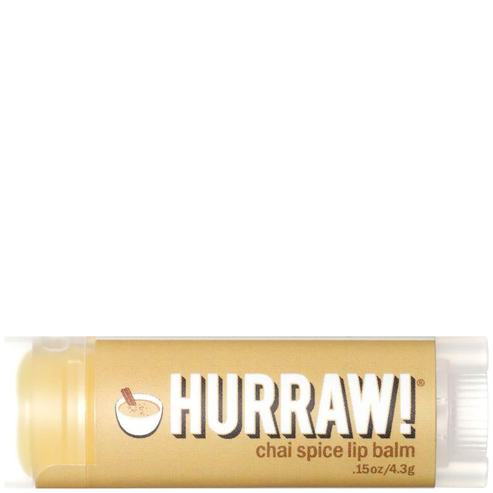 Купить Бальзам для губ с ароматом чайных специй Hurraw! Chai Spice Lip Balm