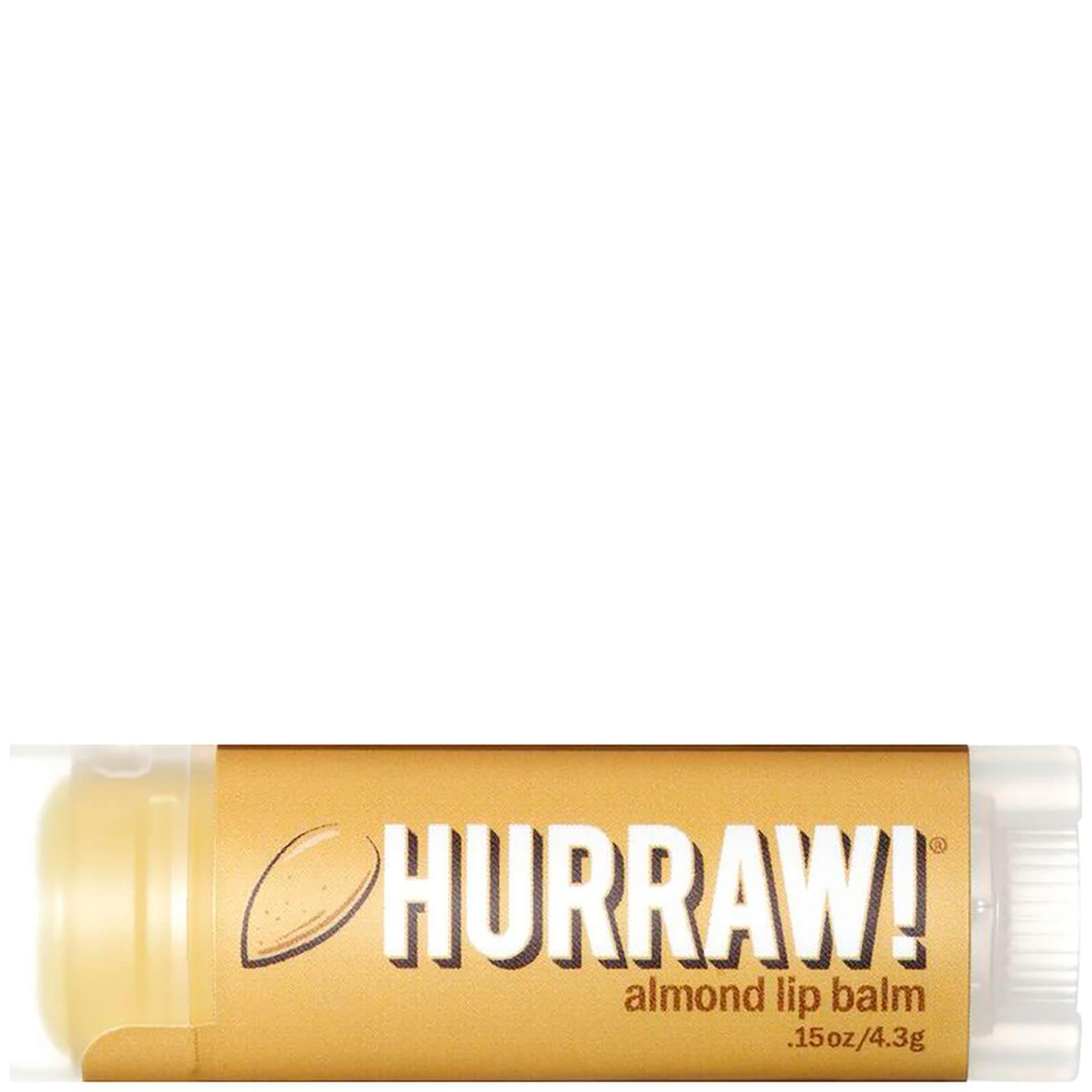 Купить Бальзам для губ с ароматом миндаля Hurraw! Almond Lip Balm
