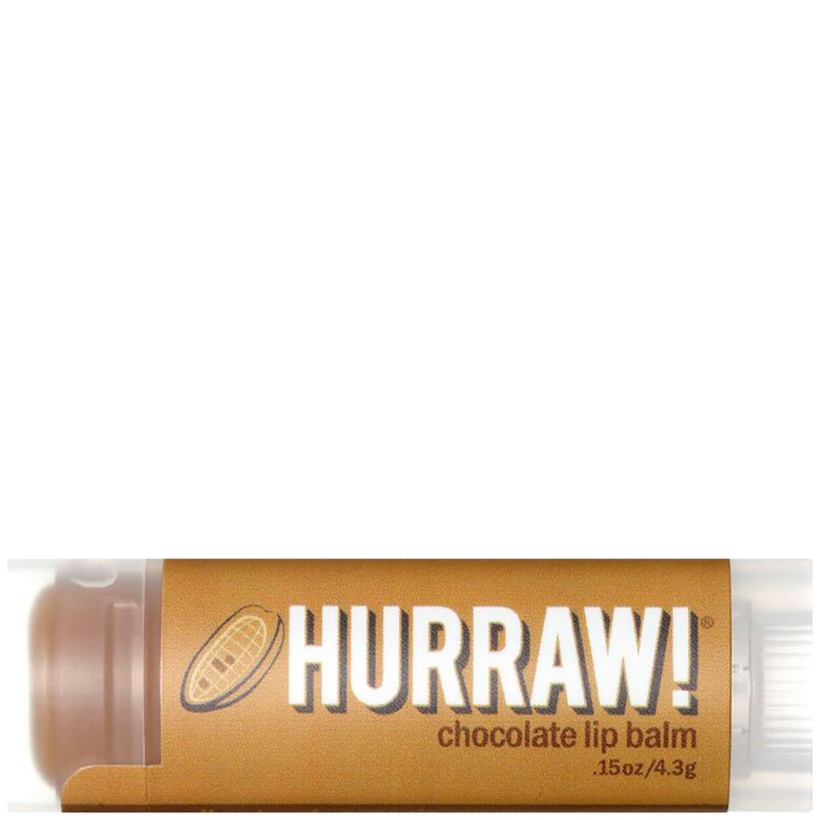 Бальзам для губ с ароматом шоколада Hurraw! Chocolate Lip Balm  - Купить