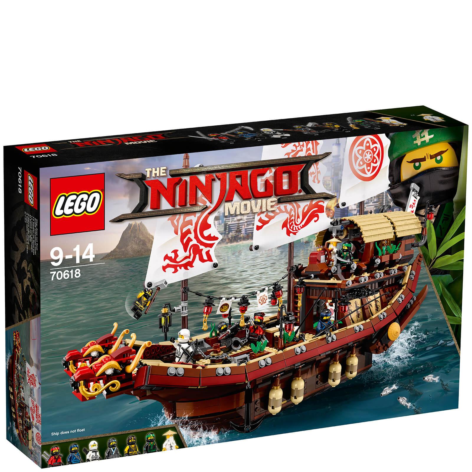 Image of LEGO The LEGO Ninjago Movie: Destiny's Bounty (70618)