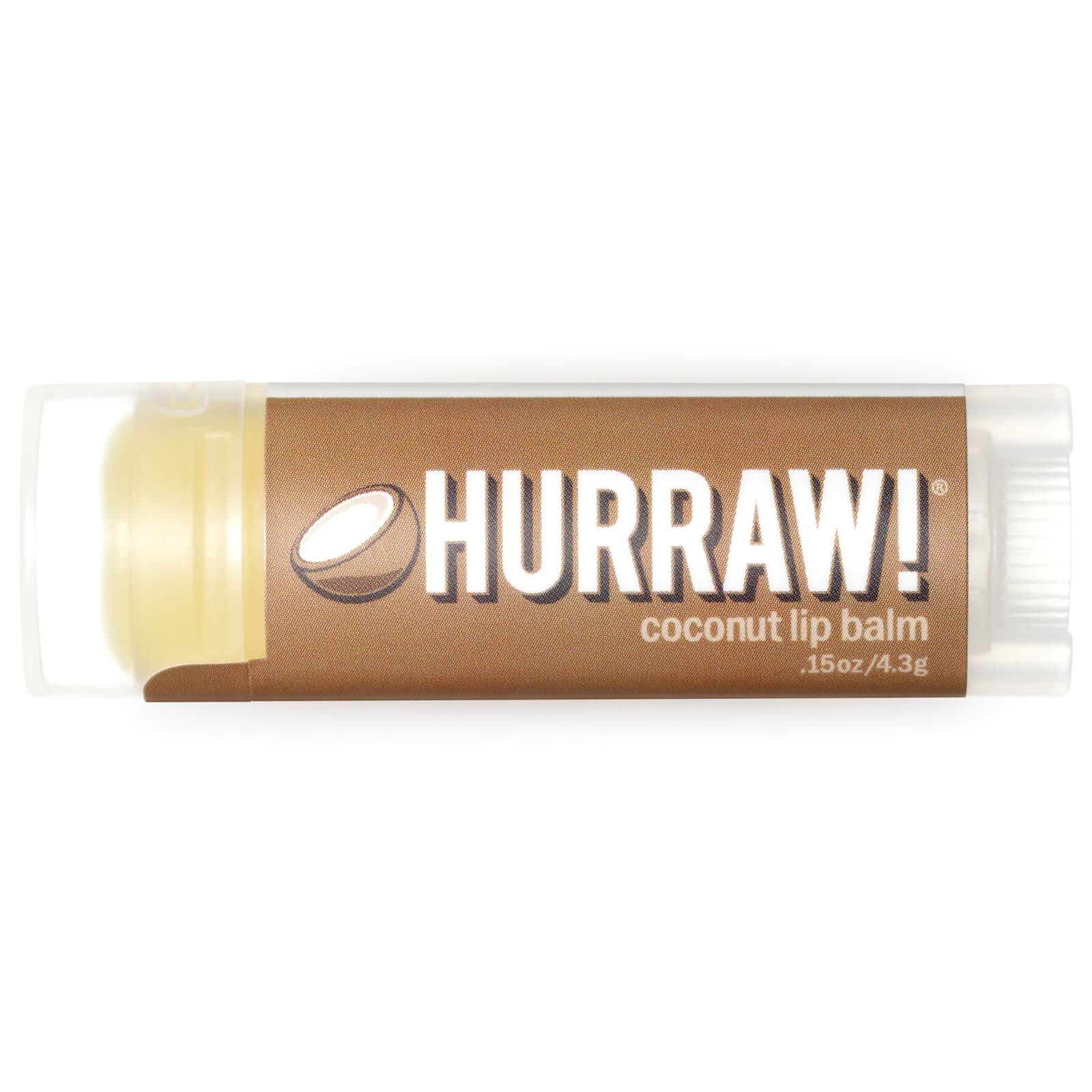Купить Бальзам для губ с ароматом кокоса Hurraw! Coconut Lip Balm 4, 3 г