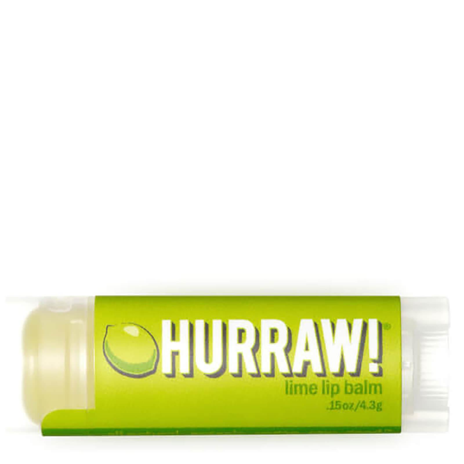 Купить Бальзам для губ с ароматом лайма Hurraw! Lime Lip Balm 4, 3 г