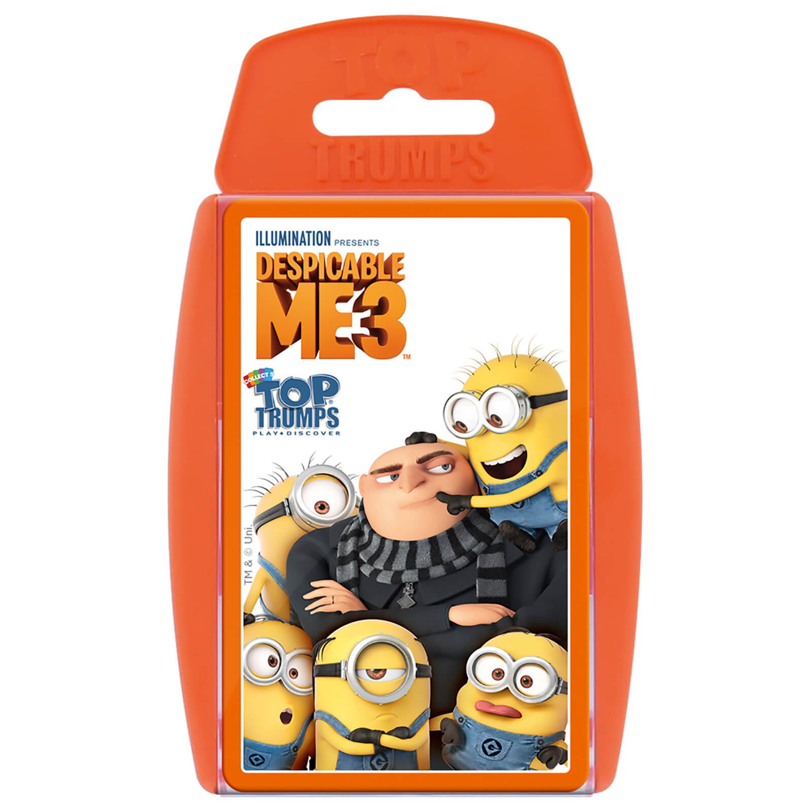 Image of Top Trumps Card Game - Despicable Me 3 Edition