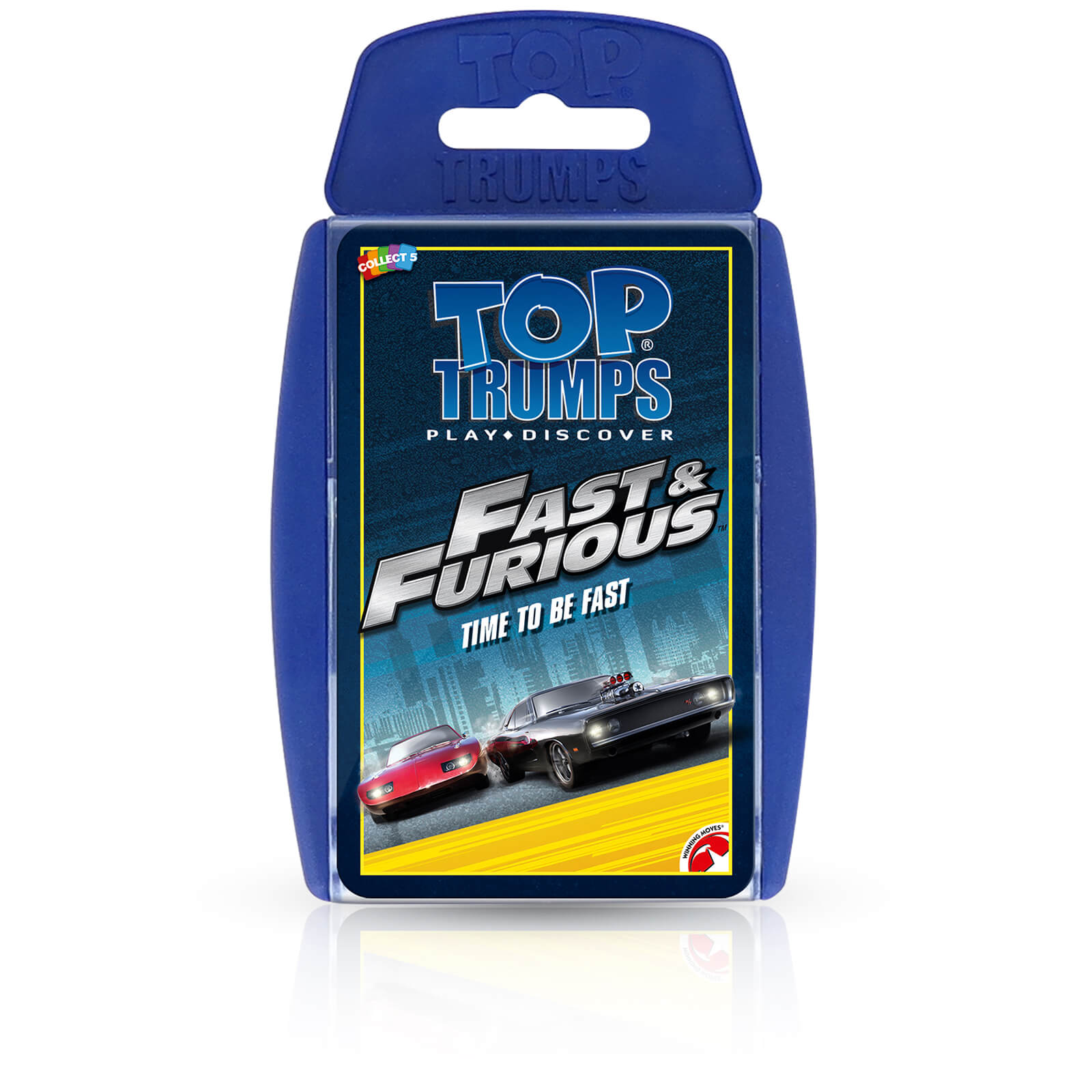 Image of Top Trumps Card Game - Fast & Furious Edition