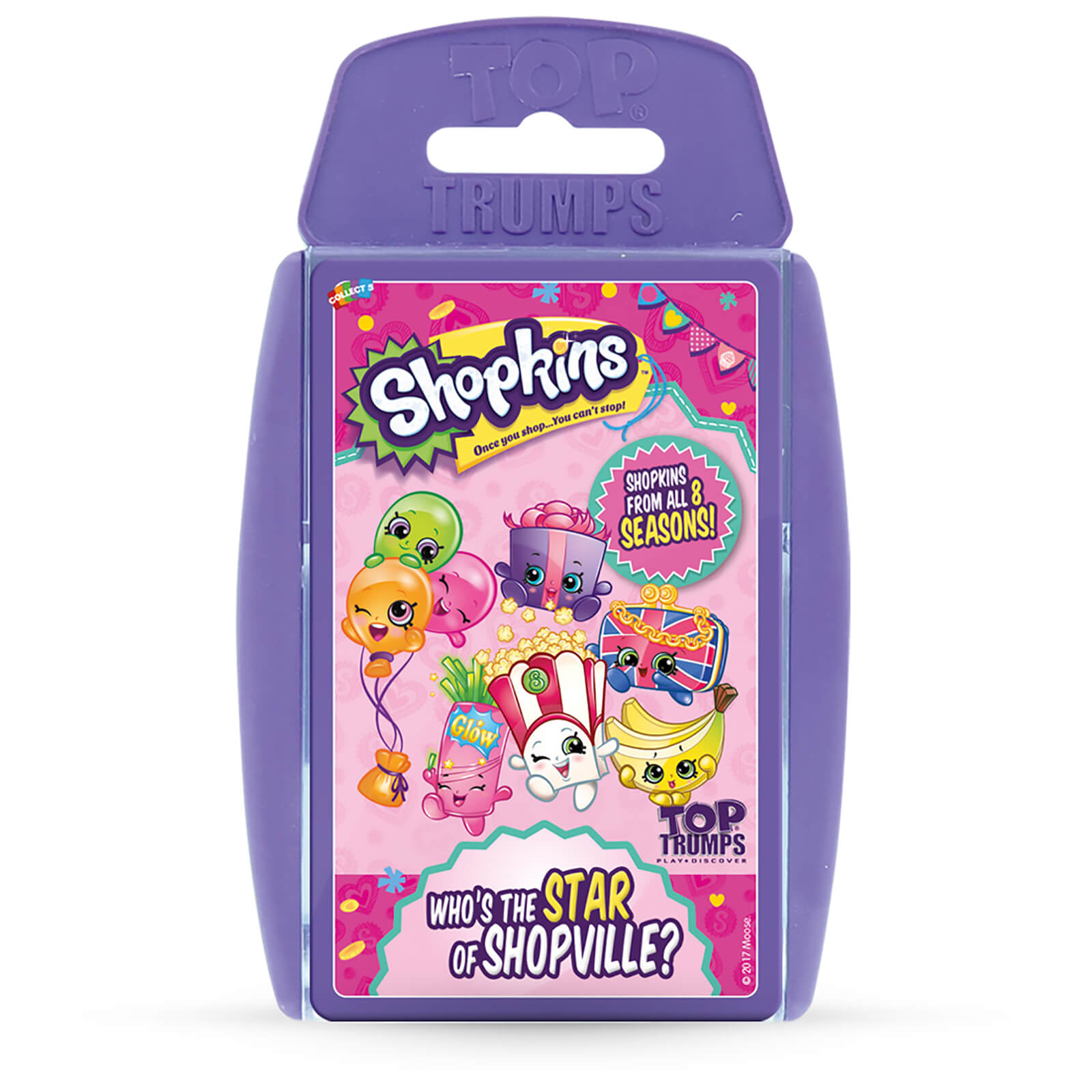 Image of Top Trumps Card Game - Shopkins Edition Volume 2
