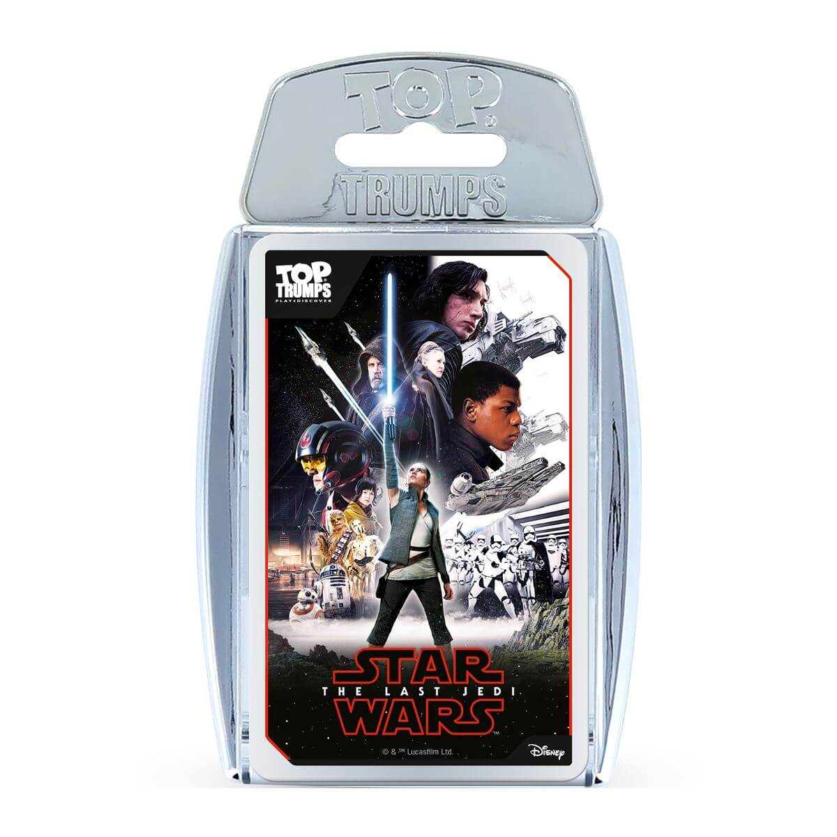 Image of Top Trumps Card Game - Star Wars Edition