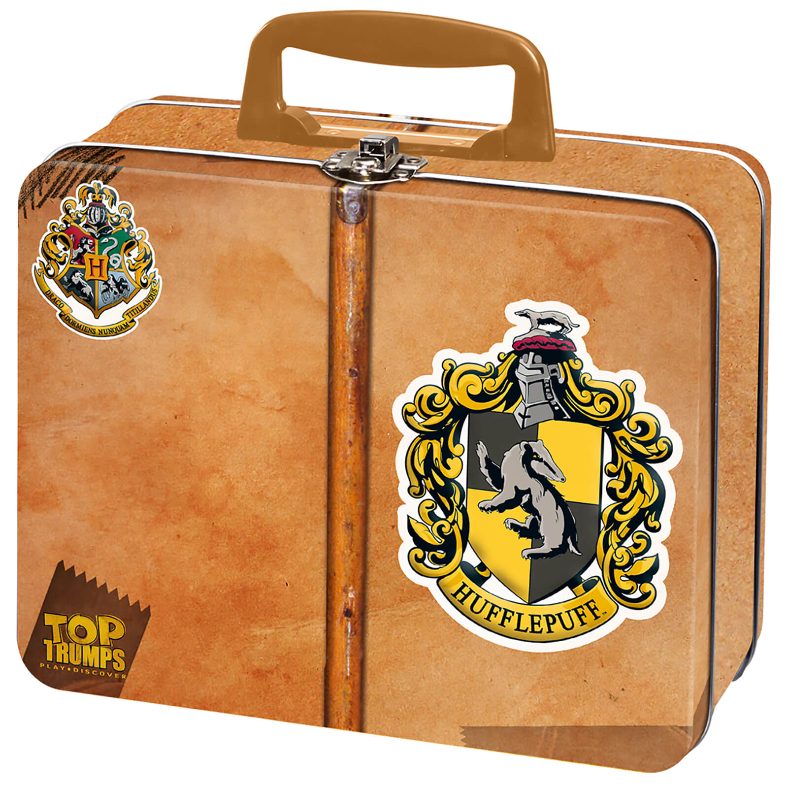 Image of Top Trumps Collector's Tin Card Game - Harry Potter Hufflepuff Edition