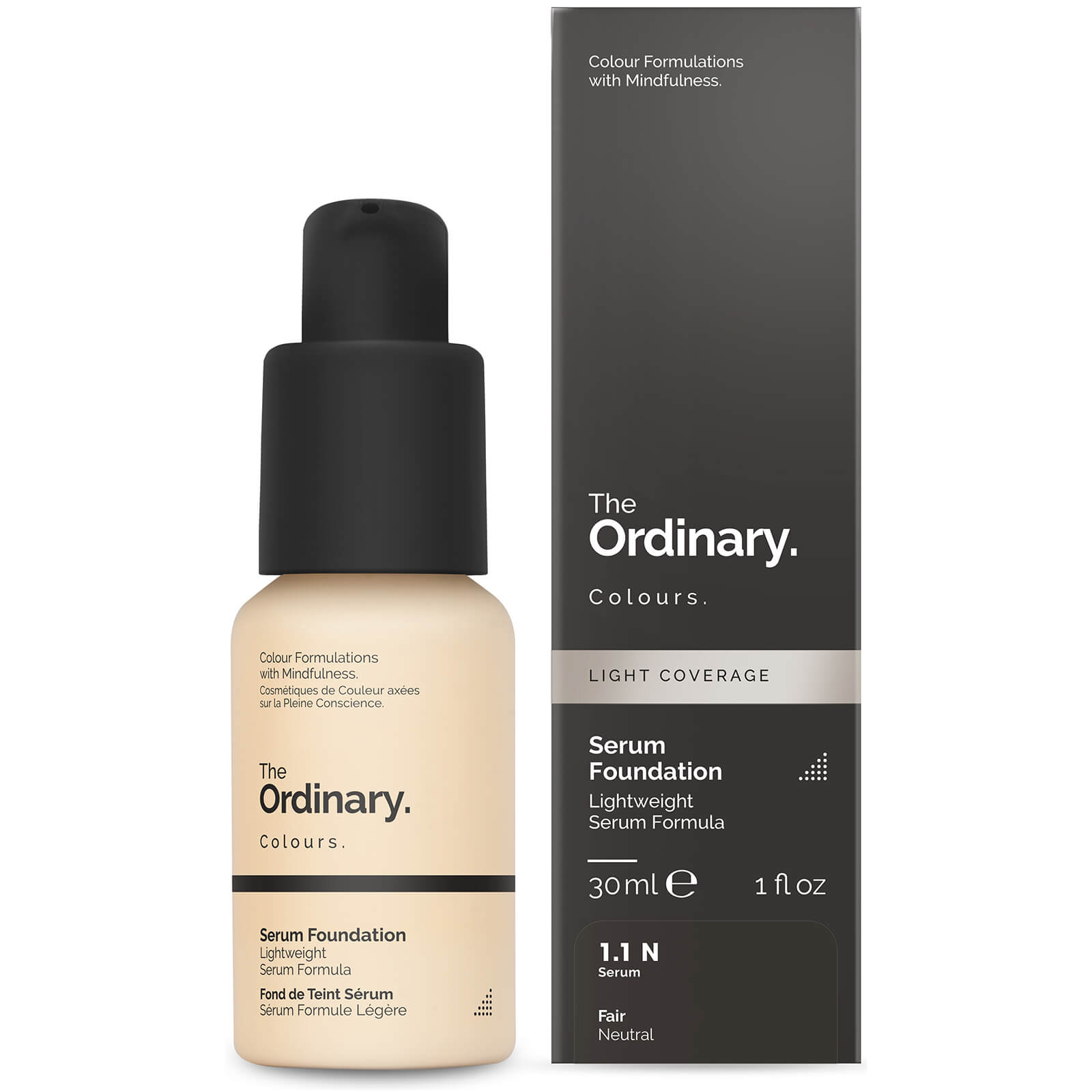 The Ordinary Serum Foundation with SPF 15 by The Ordinary Colours 30ml (Various Shades) - 1.1P