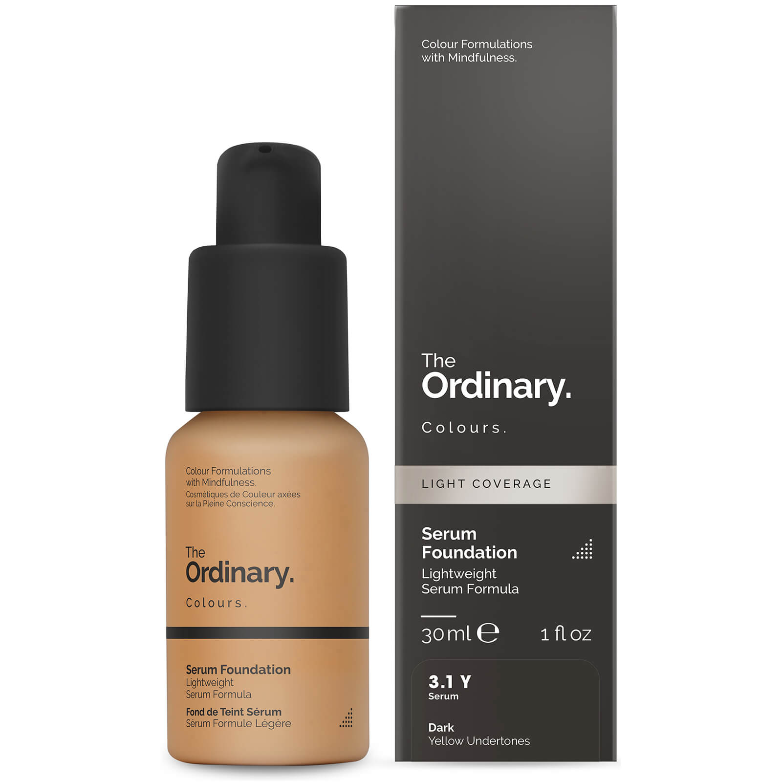The Ordinary Serum Foundation with SPF 15 by The Ordinary Colours 30ml (Various Shades) - 3.1Y