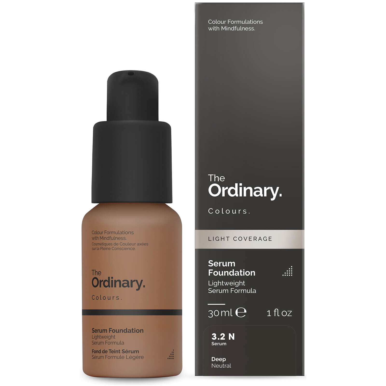 The Ordinary Serum Foundation with SPF 15 by The Ordinary Colours 30ml (Various Shades) - 3.2N