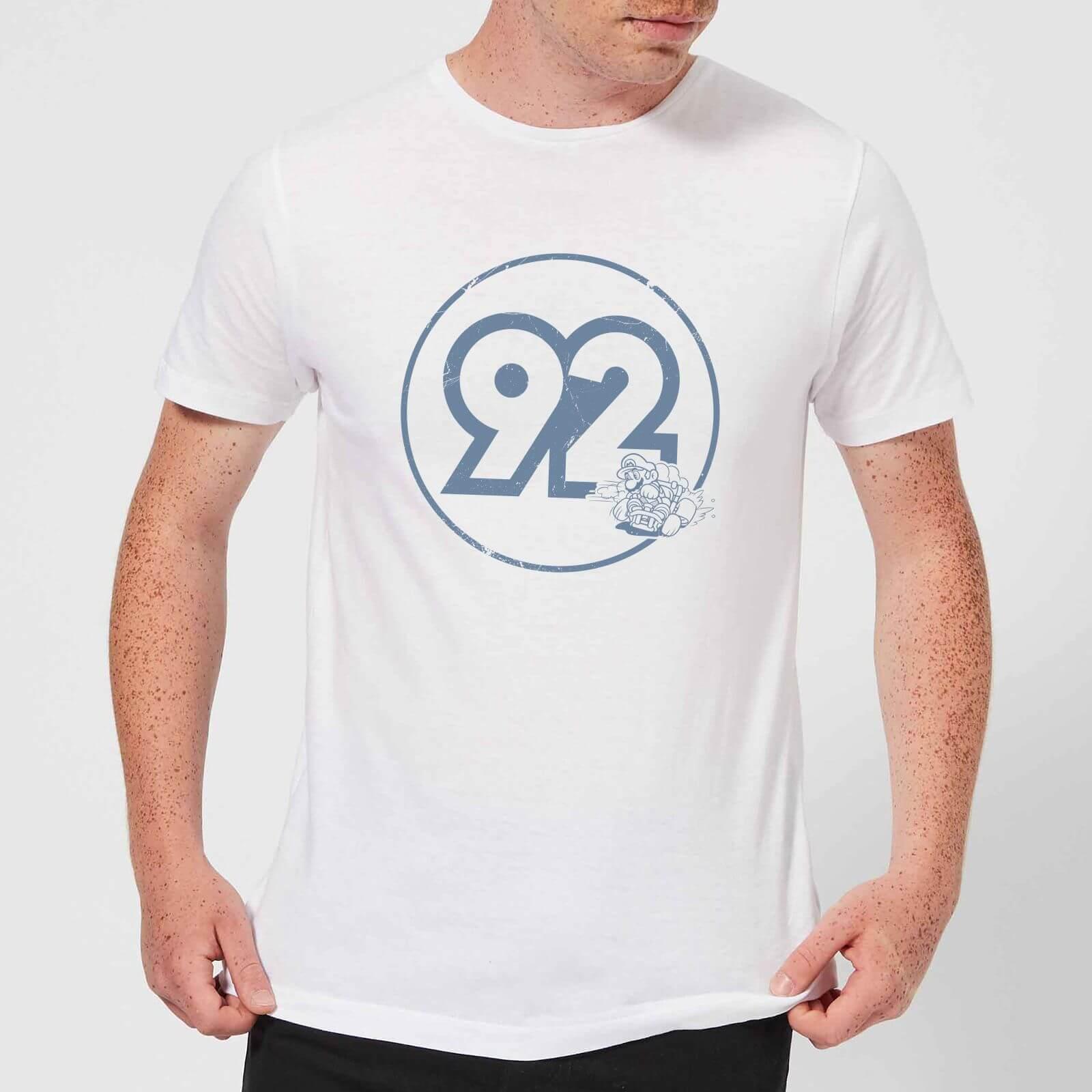 Nintendo® Vintage Mario Racer 92 T-Shirt - Weiß - XXL - Weiß