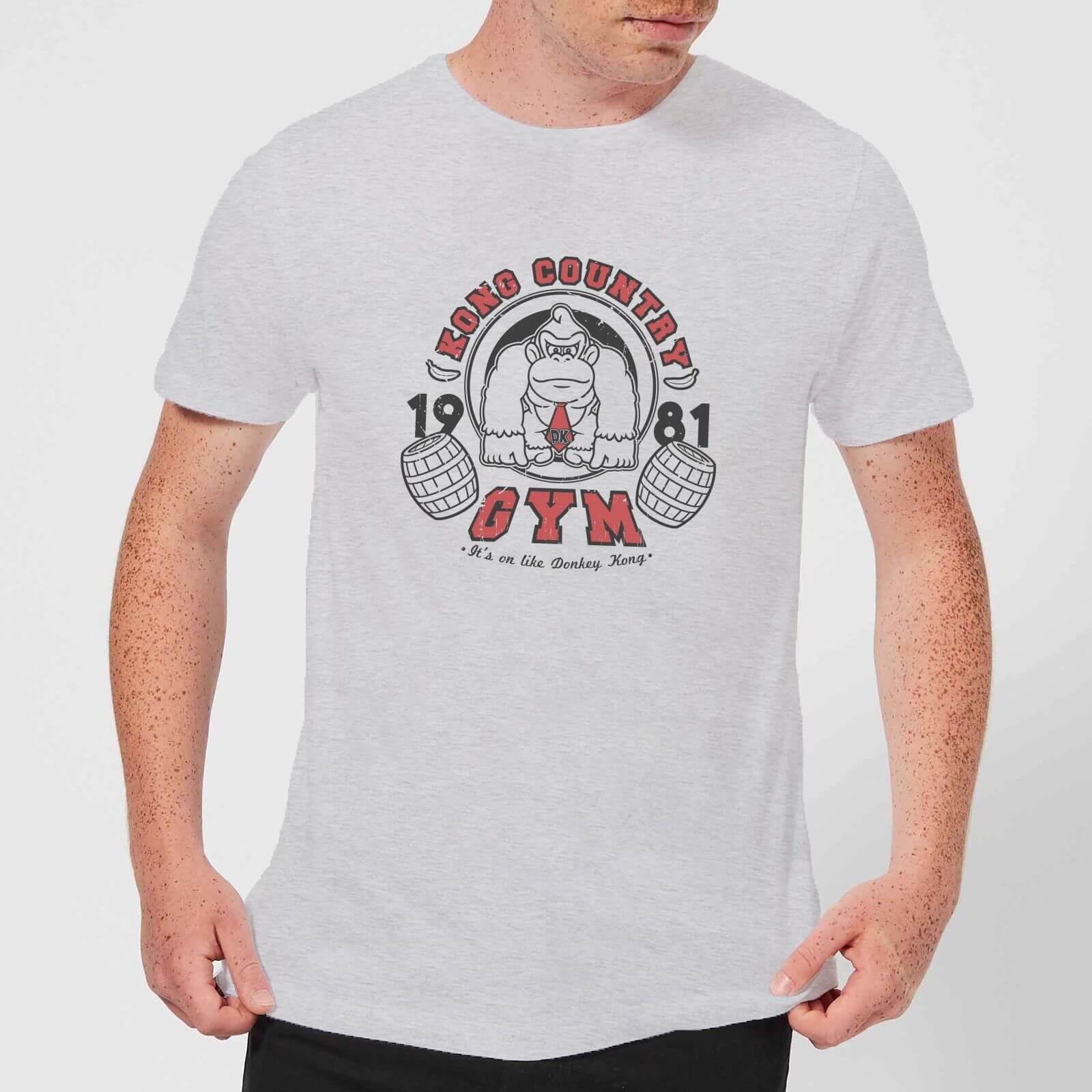 Nintendo® Donkey Kong Gym T-Shirt - Grau - XL - Hellgrau