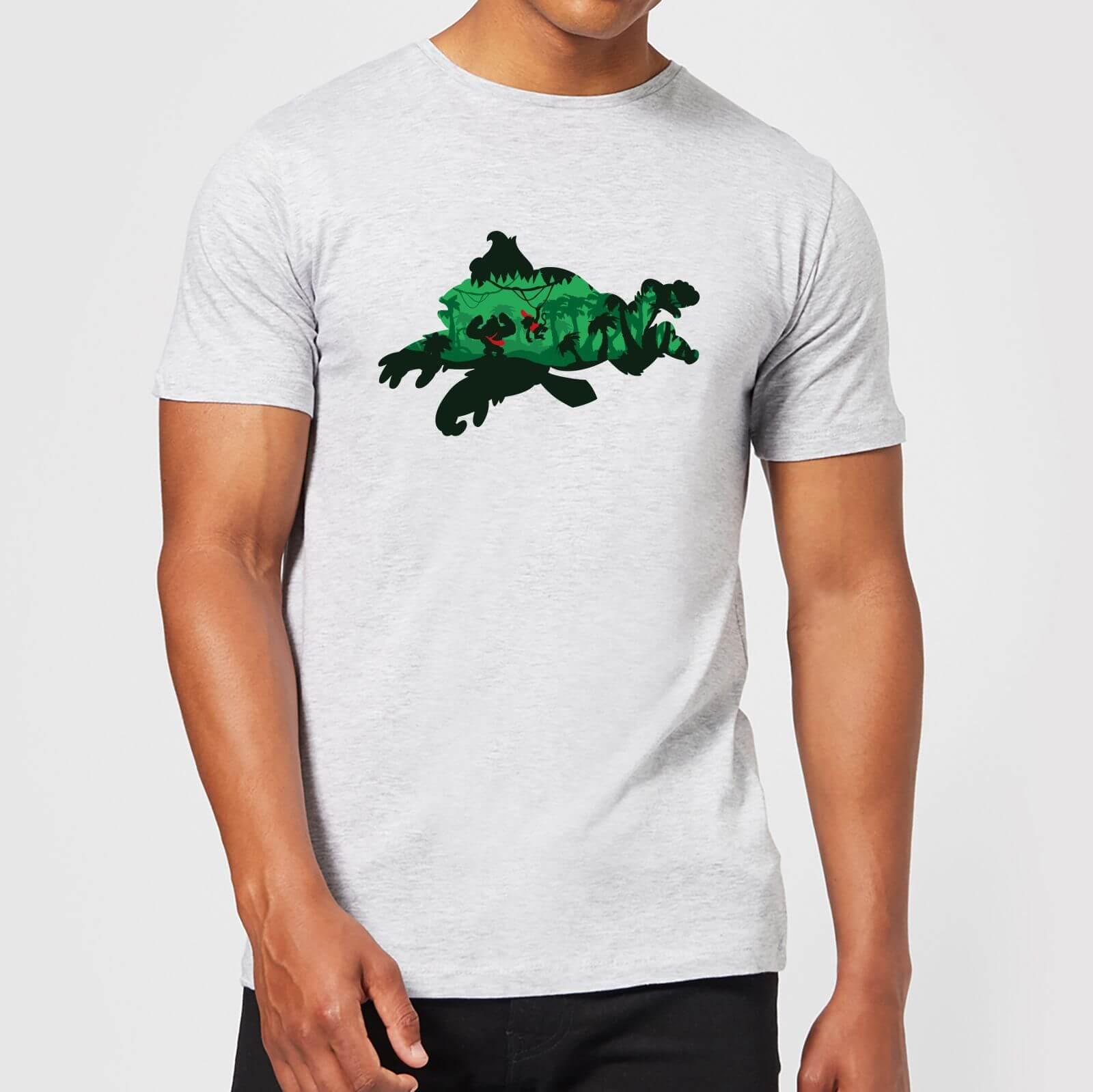 Nintendo® Donkey Kong Silhouette T-Shirt - Grau - XXL - Hellgrau