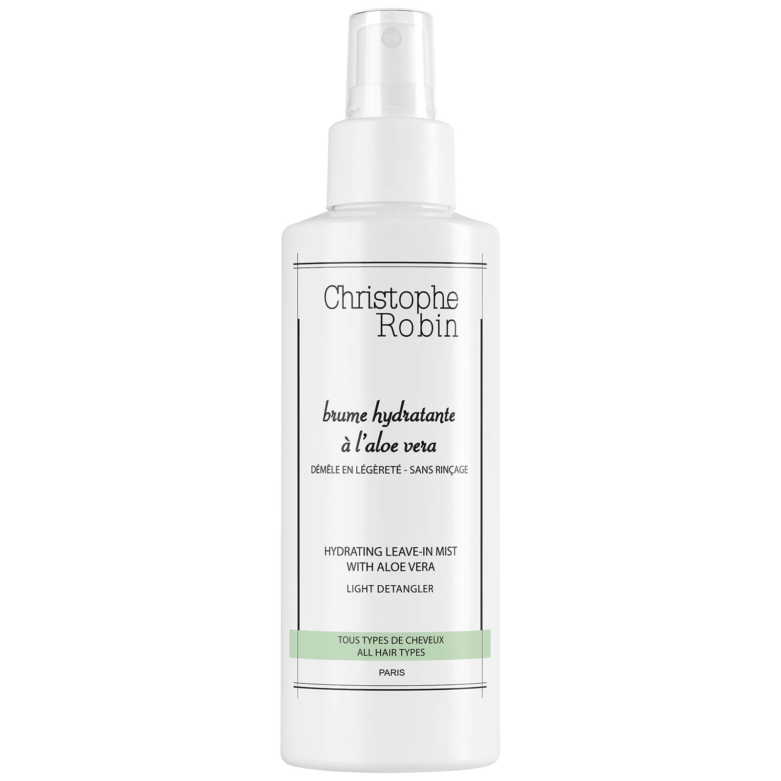 Christophe Robin Hydrating Leave-In Mist with Aloe Vera 150ml