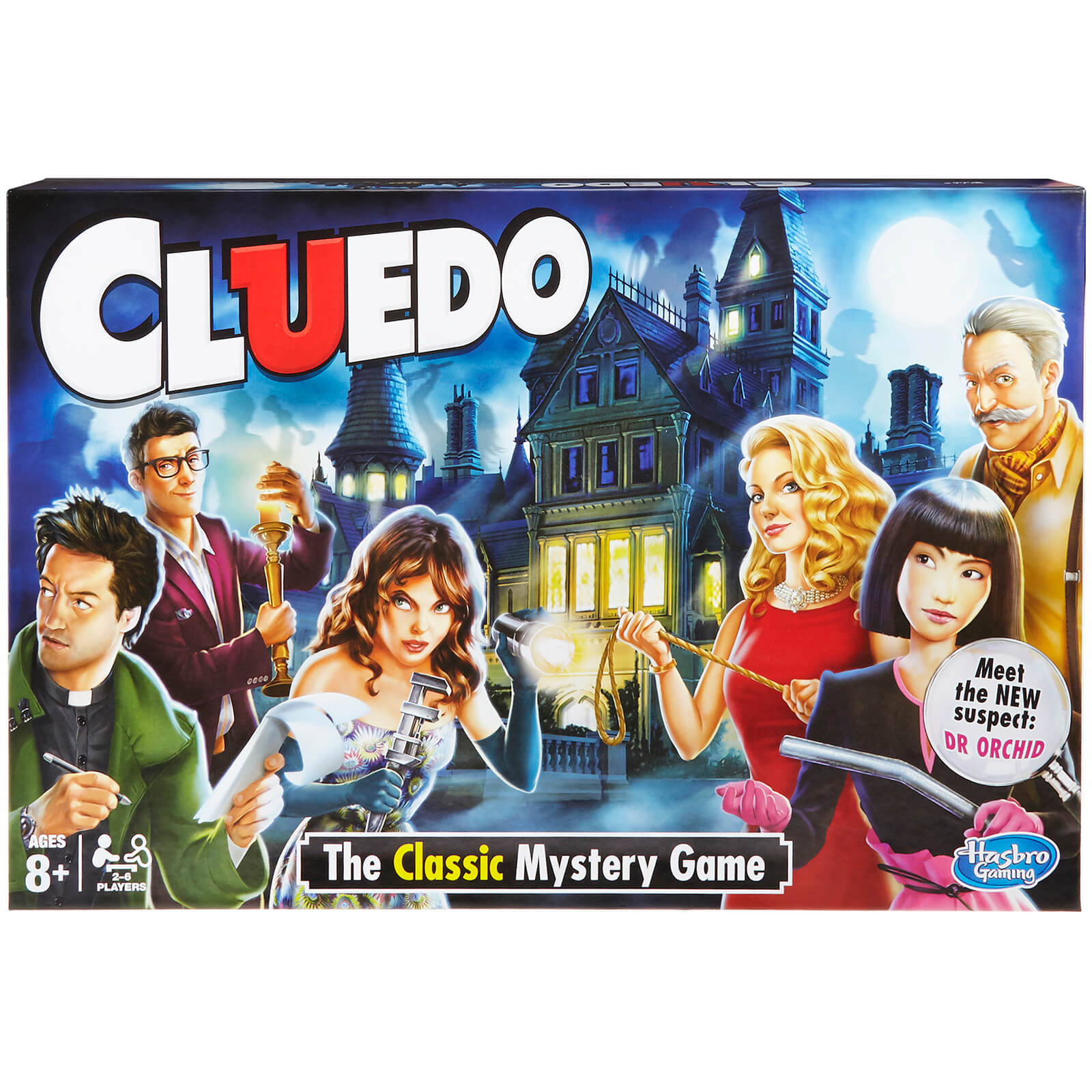 Image of Hasbro Gaming Cluedo the Classic Mystery Game