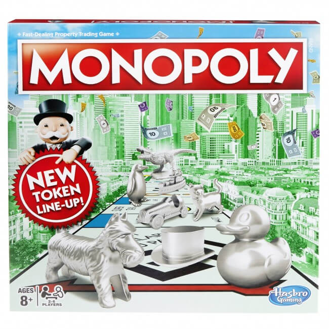 Image of Hasbro Gaming Monopoly Classic