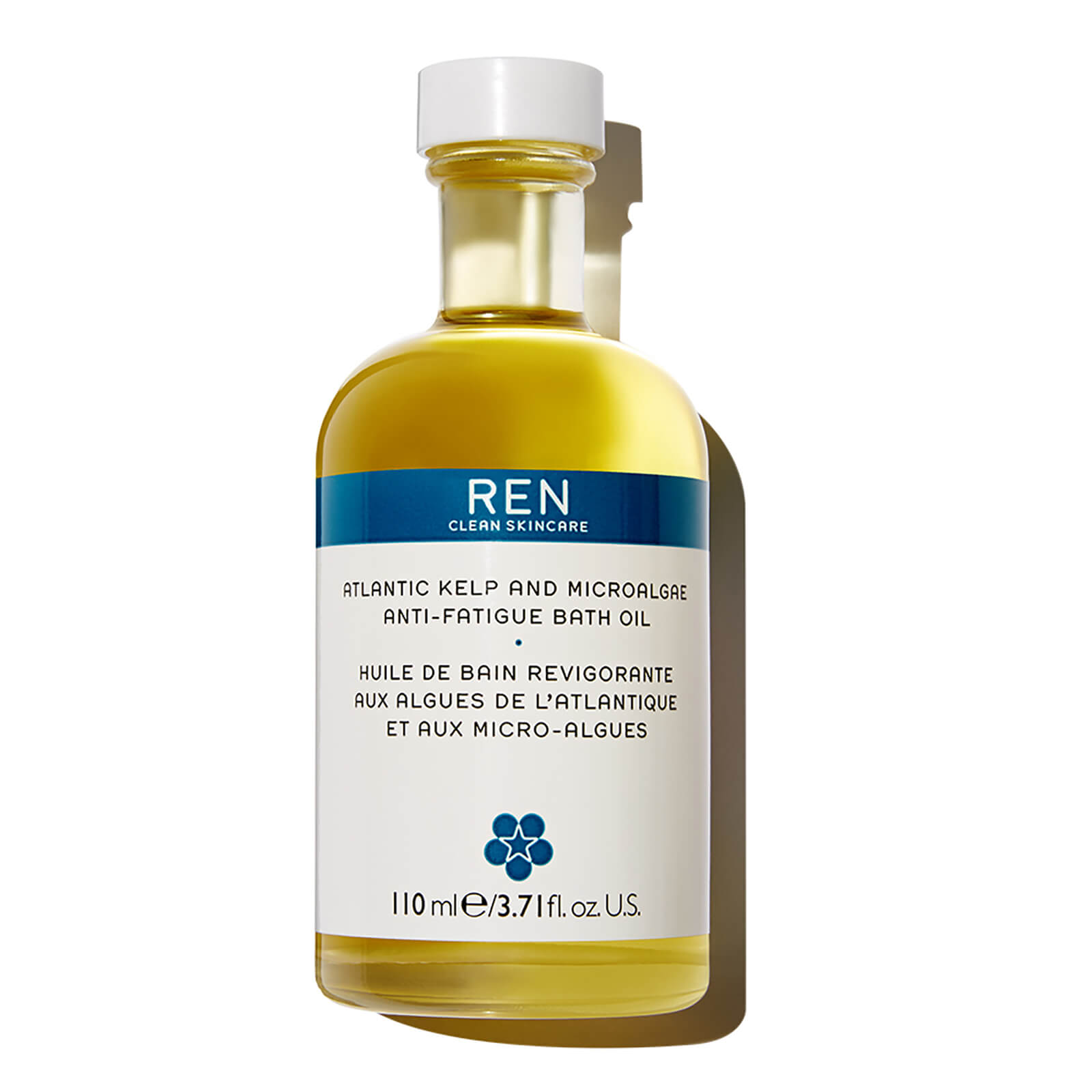 REN Clean Skincare Skincare Atlantic Kelp and Microalgae Anti-Fatigue Bath Oil 110ml