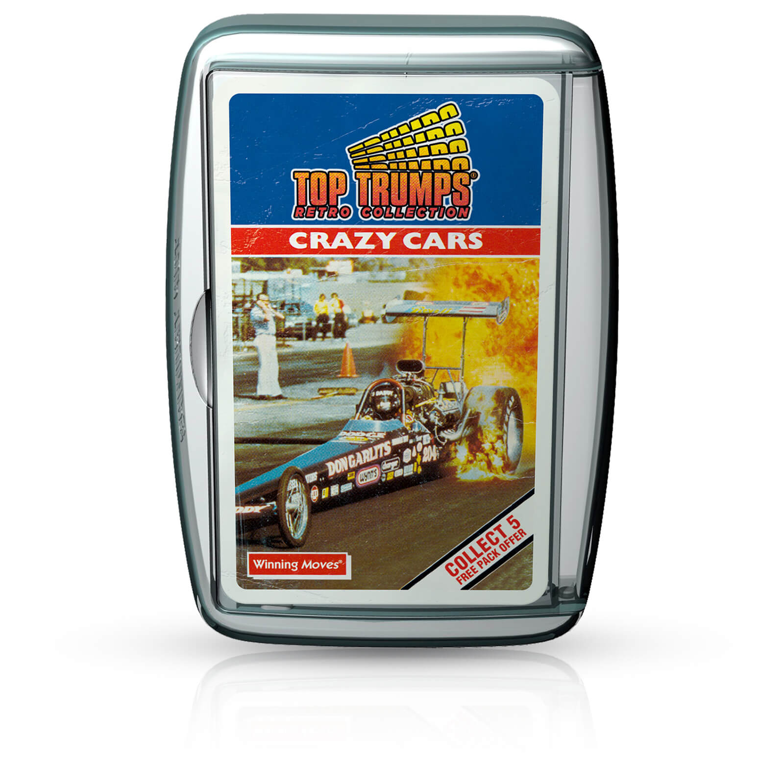 Image of Top Trumps Card Game - Crazy Cars Retro Edition
