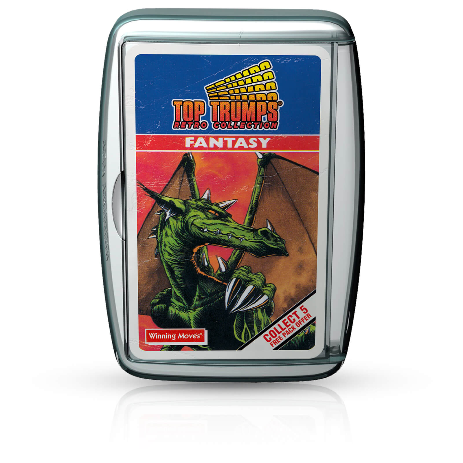 Image of Top Trumps Card Game - Fantasy Retro Edition